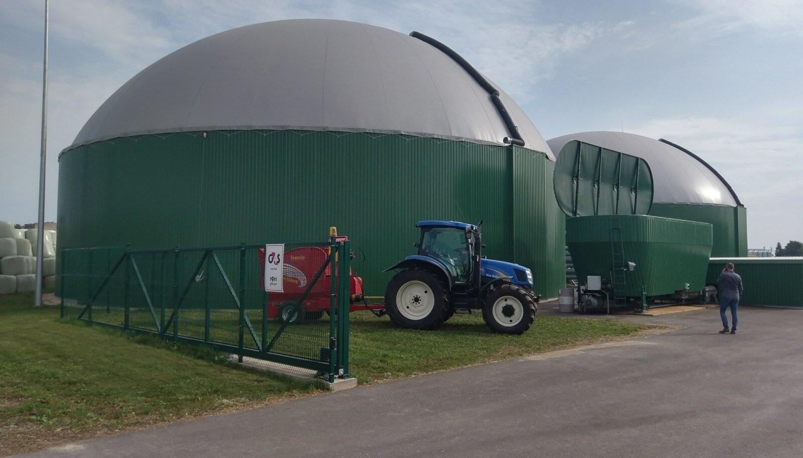 Biometaanijaama avamine Koksveres.