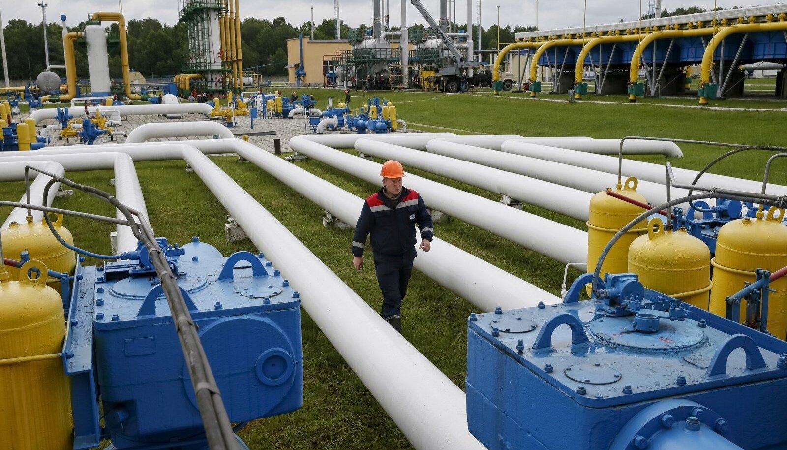 Ukraina gaasivõrk