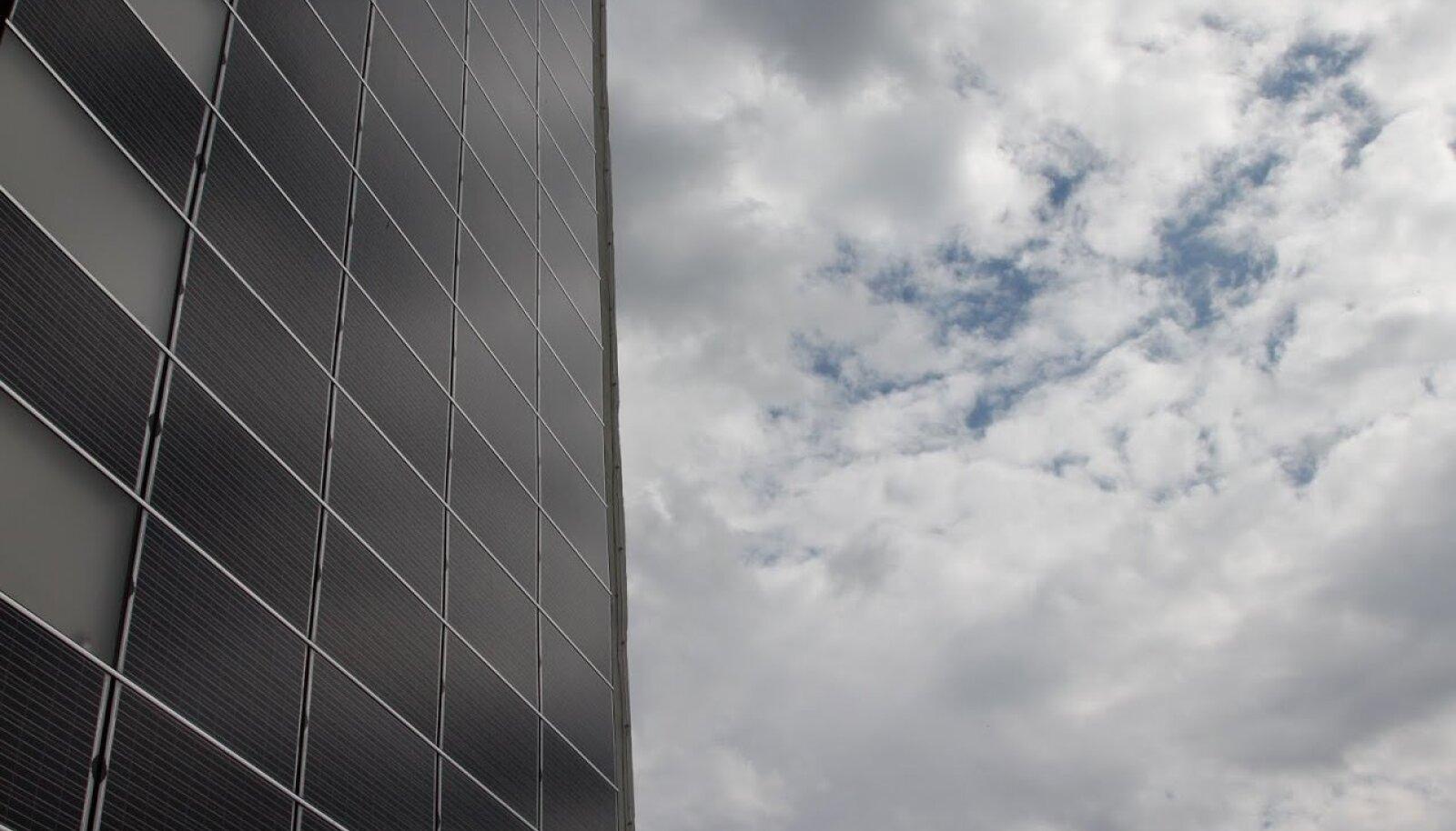Toila SPA päikesepaneelid