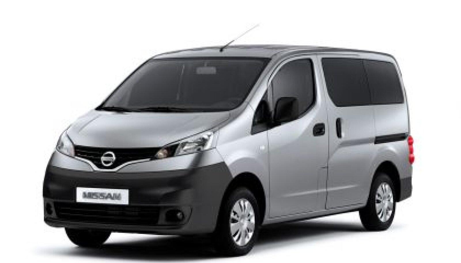 Nissan NV200 sai soliidse pärja