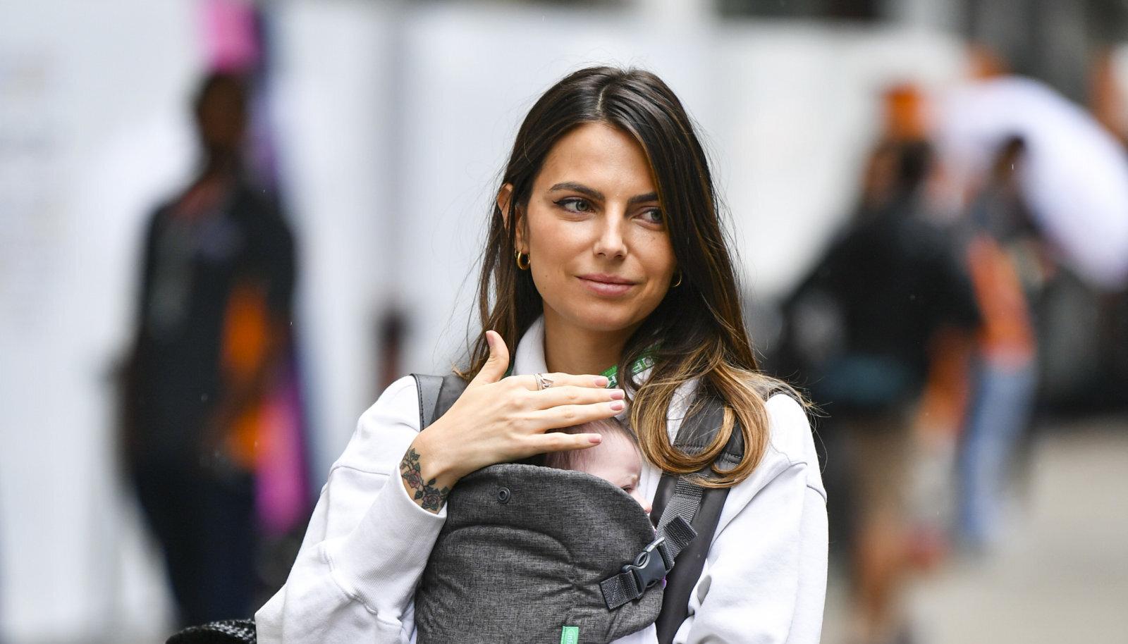 Daniil Kvjati ja Kelly Piquet tütar sündis 2019. aasta juulis.