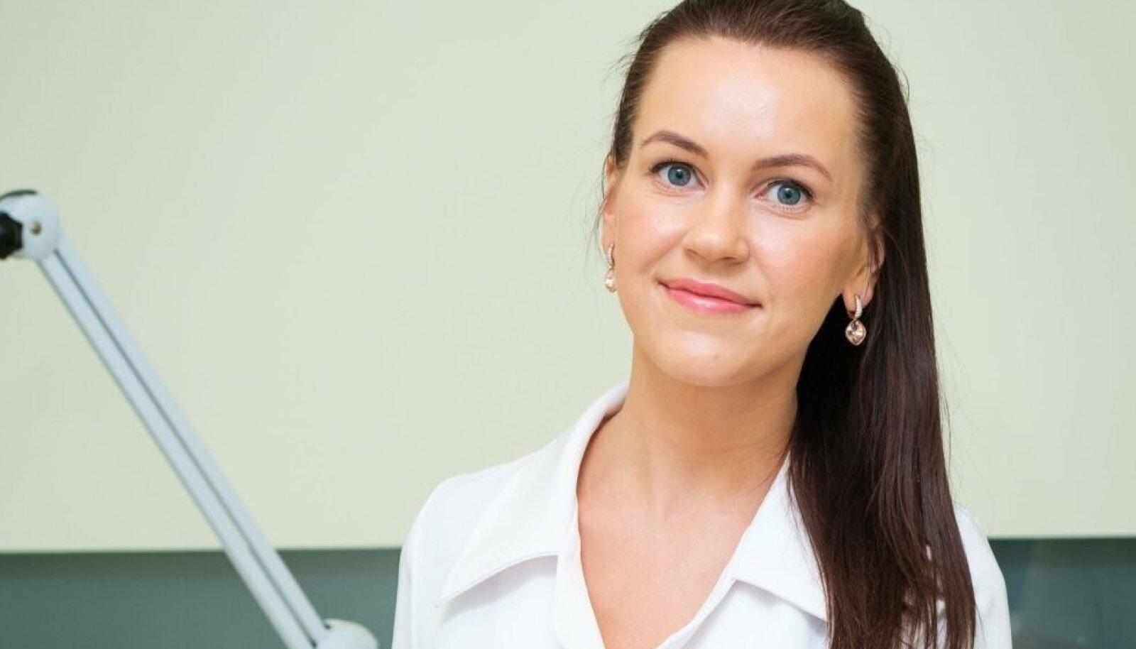 Medemis Clinicu esteetilise meditsiini õde Mari-Liis Sootalu.