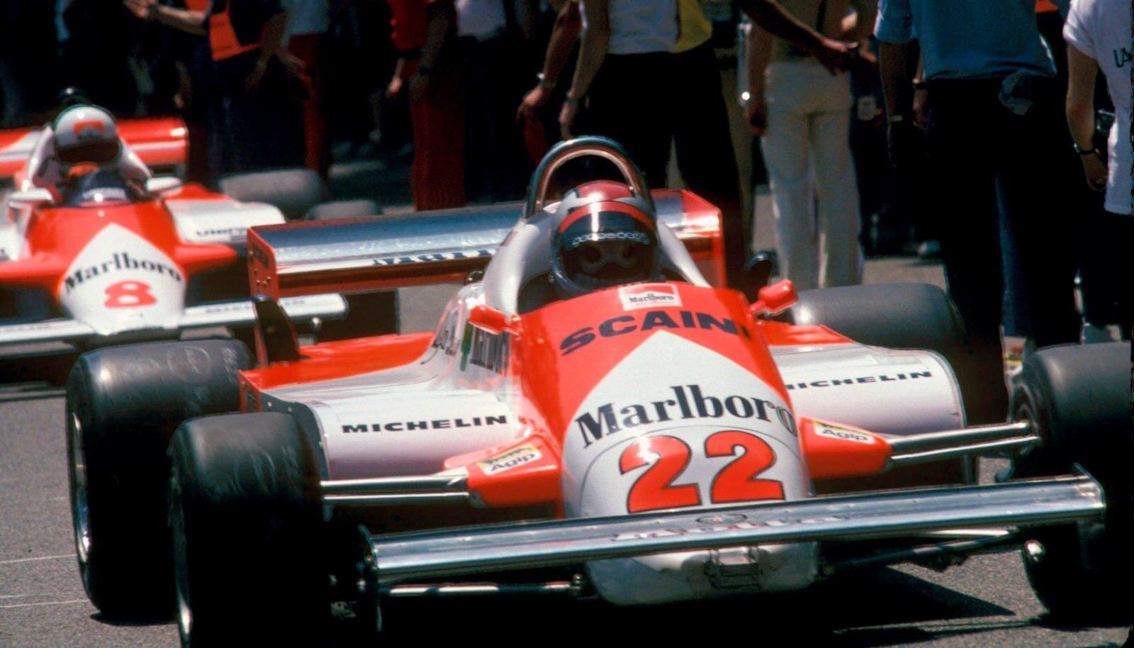 Andrea de Cesaris enamasti finišisse ei jõudnud.