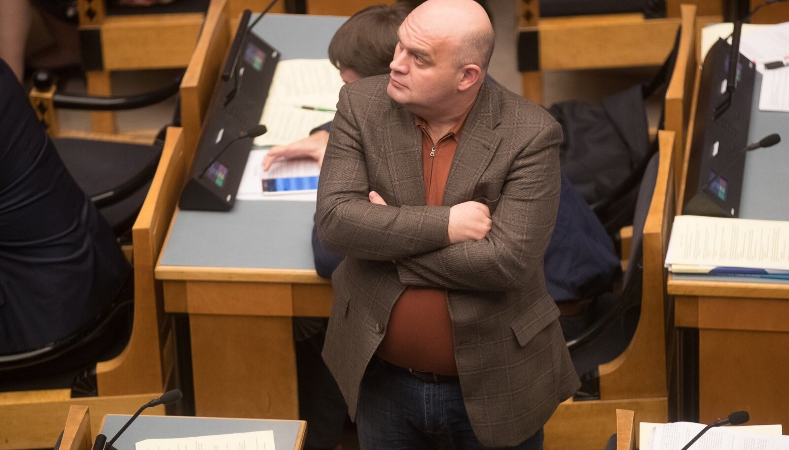 Riigikogu ööistung 14.12.16. Igor Kravtšenko.