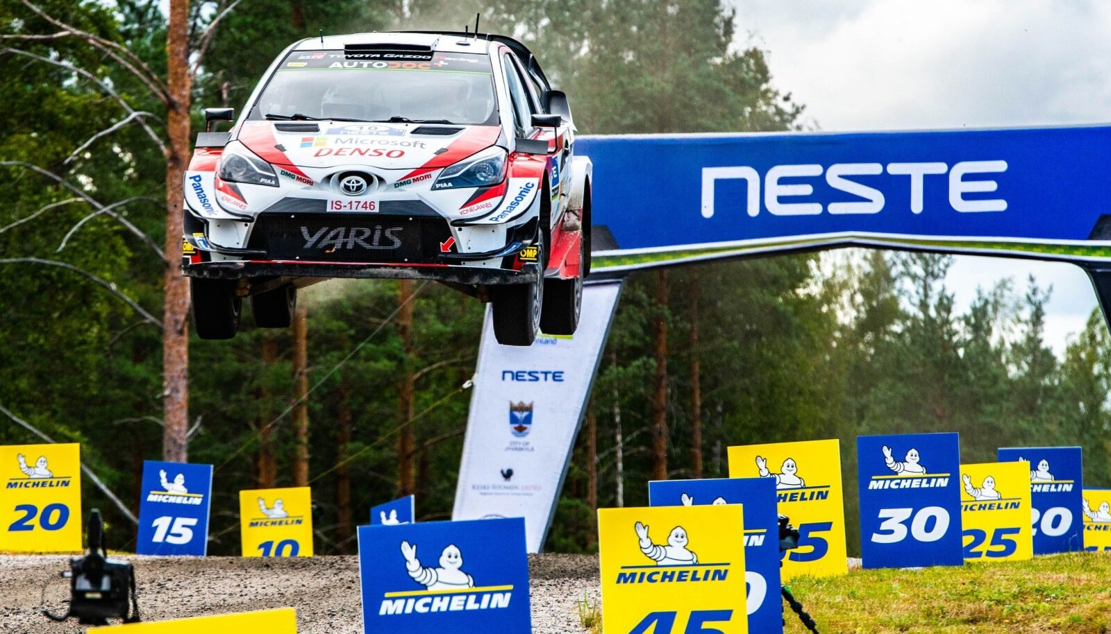 Jari-Matti Latvala Soome rallil