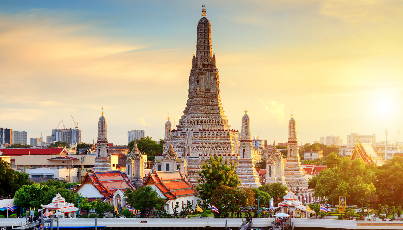 Wat Aruni tempel Bangkokis