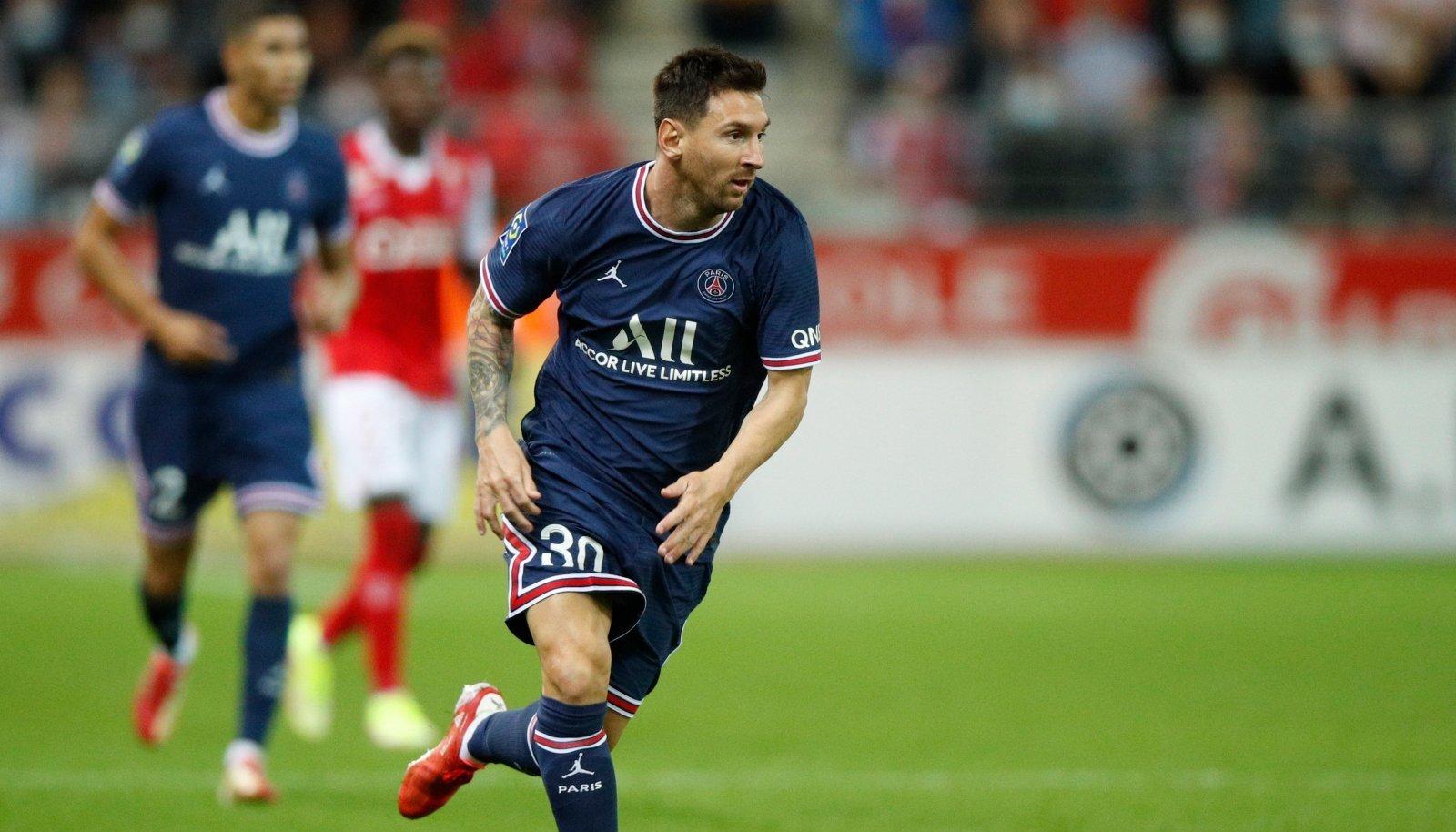Lionel Messi sai esmakordselt oma oskusi näidata PSG mängijana.