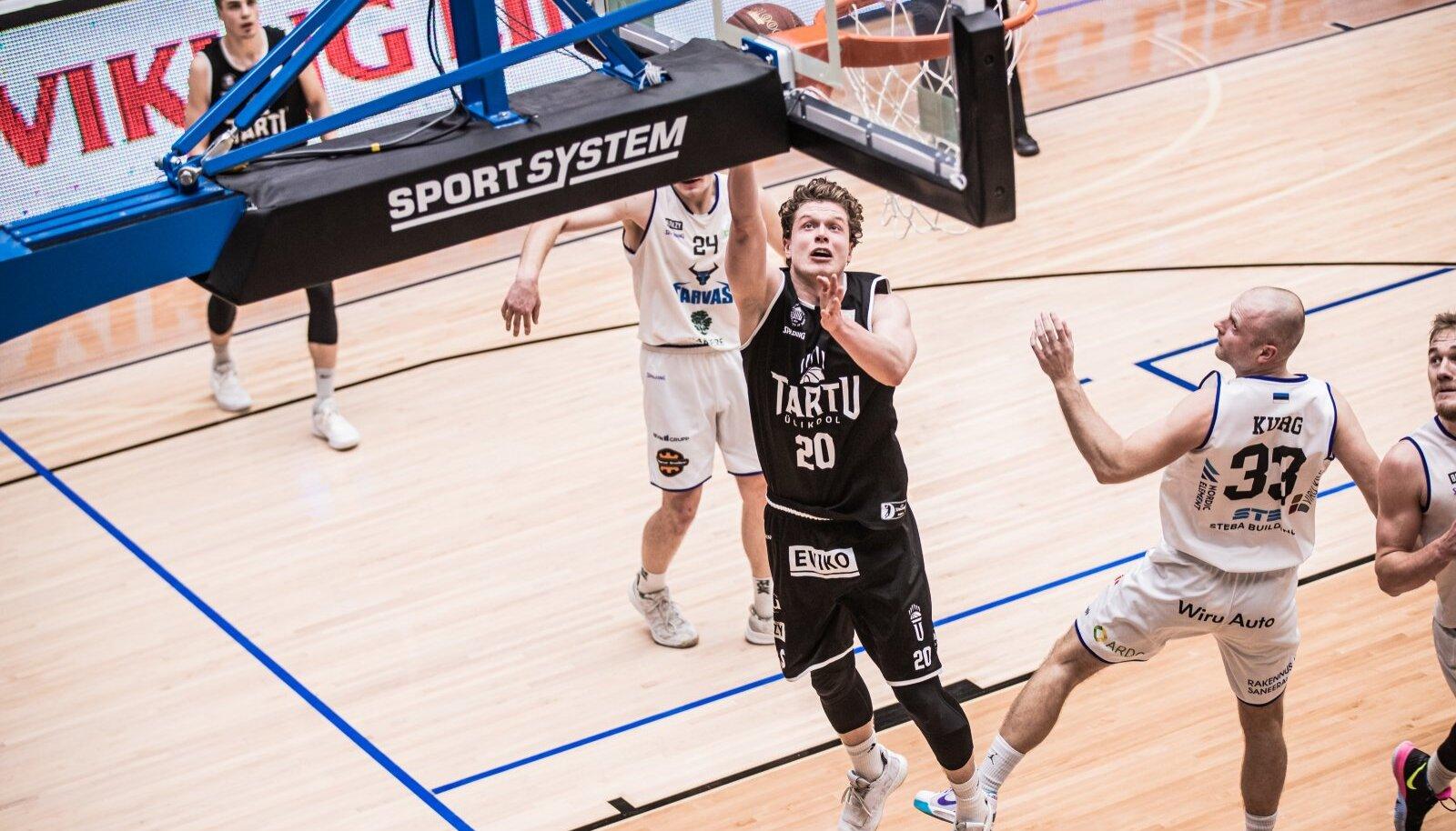 Pärnule 16 punkti toonud Robert Valge mängis mullu Tartu eest.