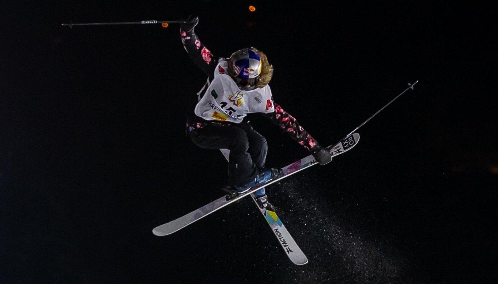 Kelly Sildaru Kreischbergi MK-etapil.