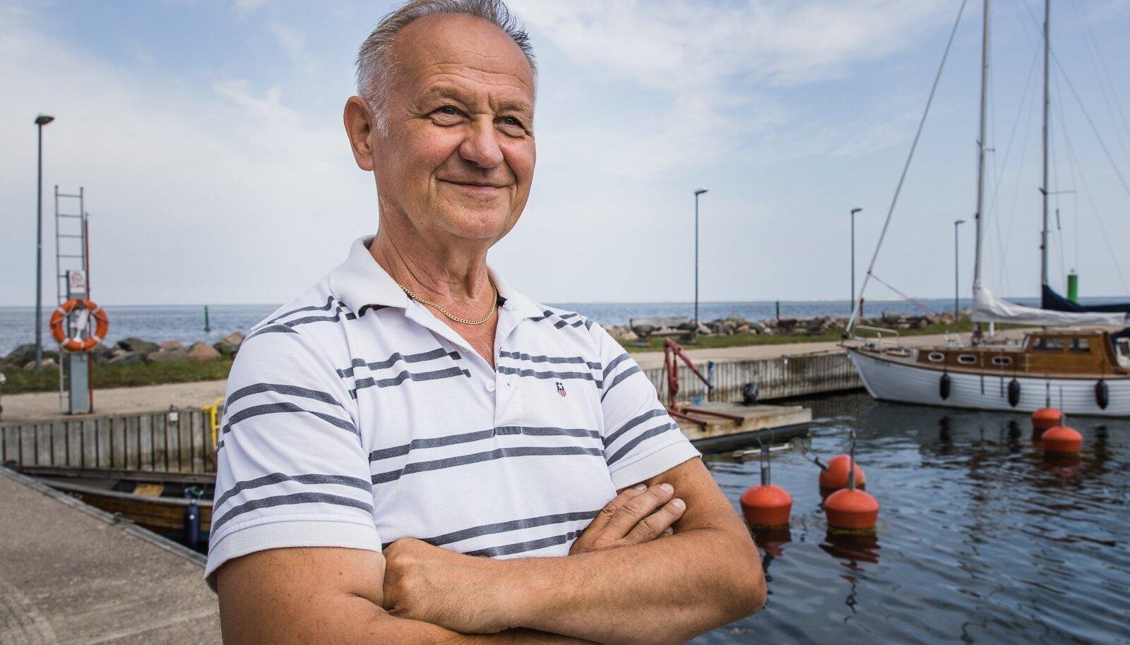 Roograhu sadama omanik Jari Lindroos