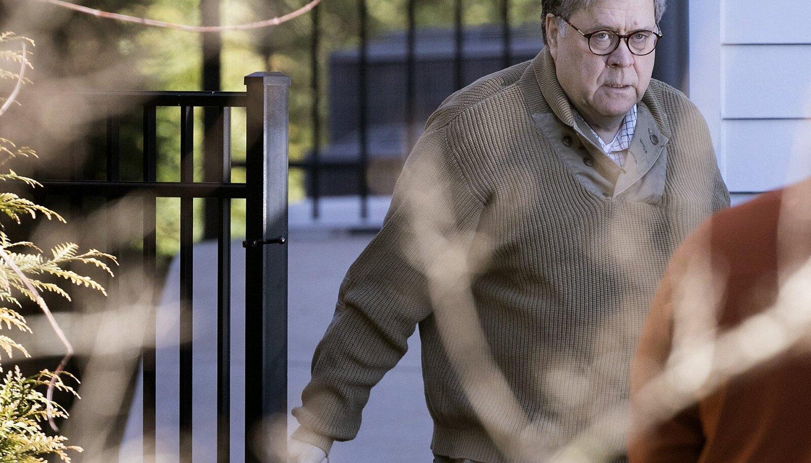 Justiitsminister William Barr otsustab, kui suurt osa raportist avalikkus näeb.