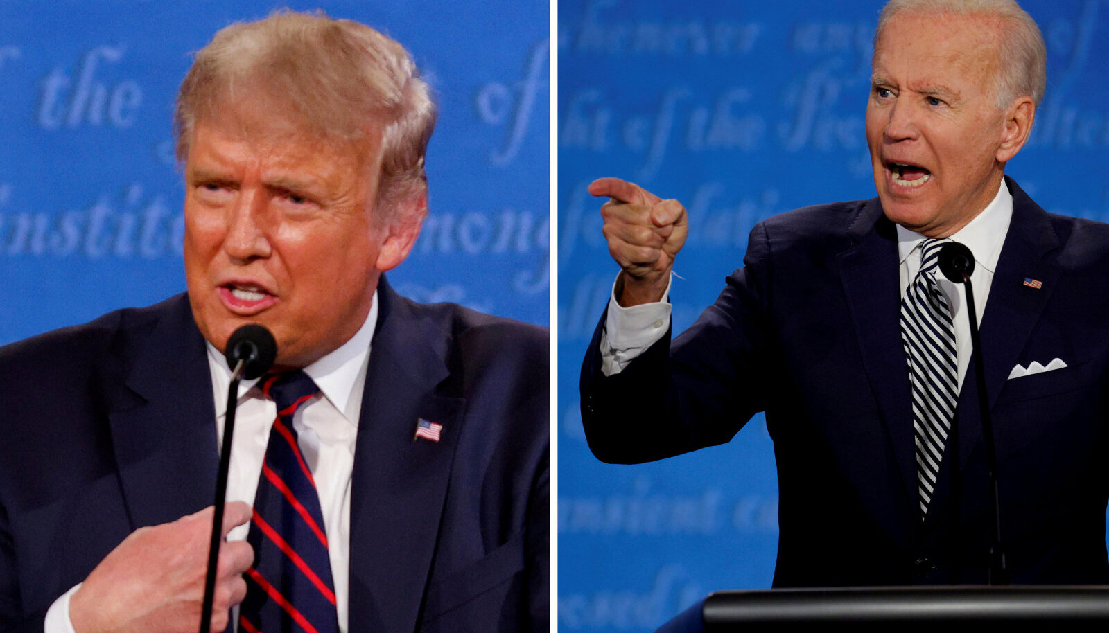 Donald Trump ja Joe Biden