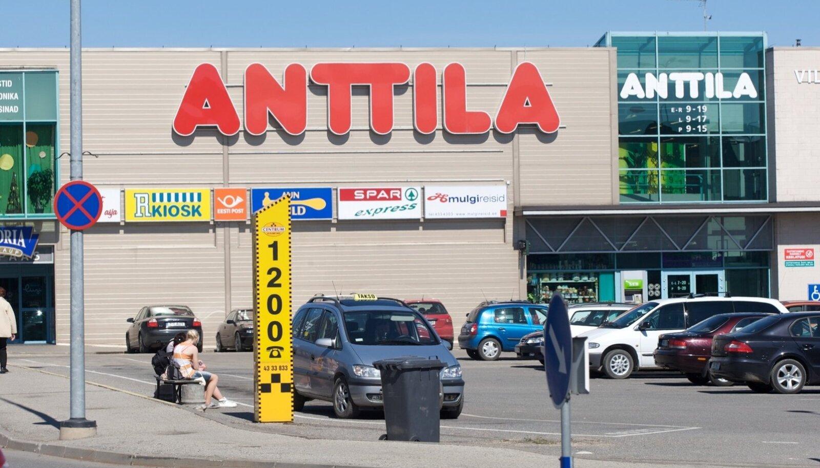 Anttila kaubamaja Viljandis.