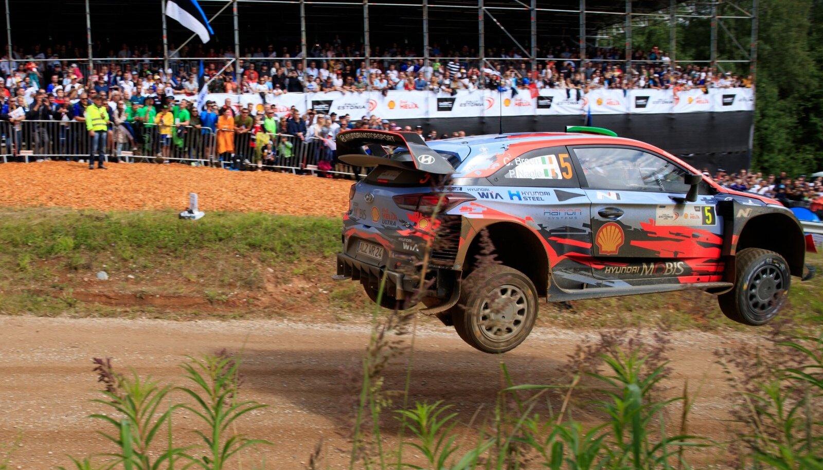 Võimalus, et Rally Estoniast saaks MM-sarja etapp, on väike, aga mitte olematu.