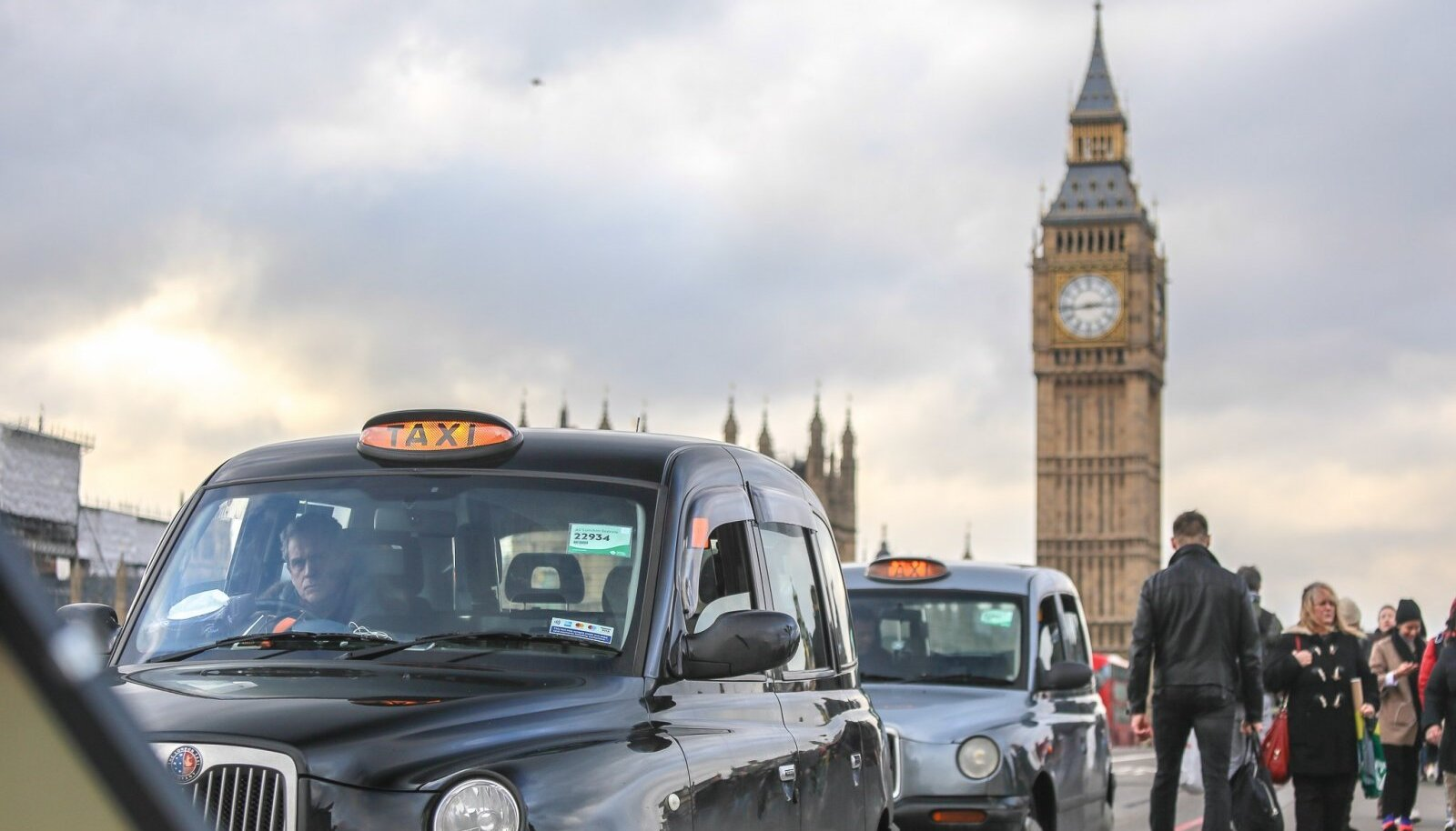 Londoni kesklinnas on erinevaid piirangutsoone rohkesti