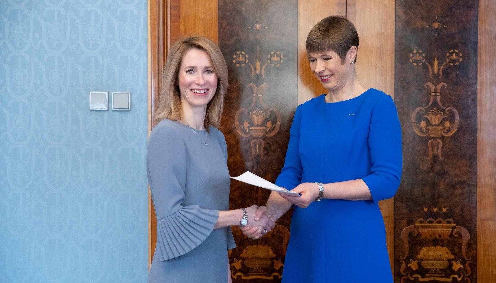 President teeb Kaja Kallasele ettepaneku valitsuse moodustamiseks