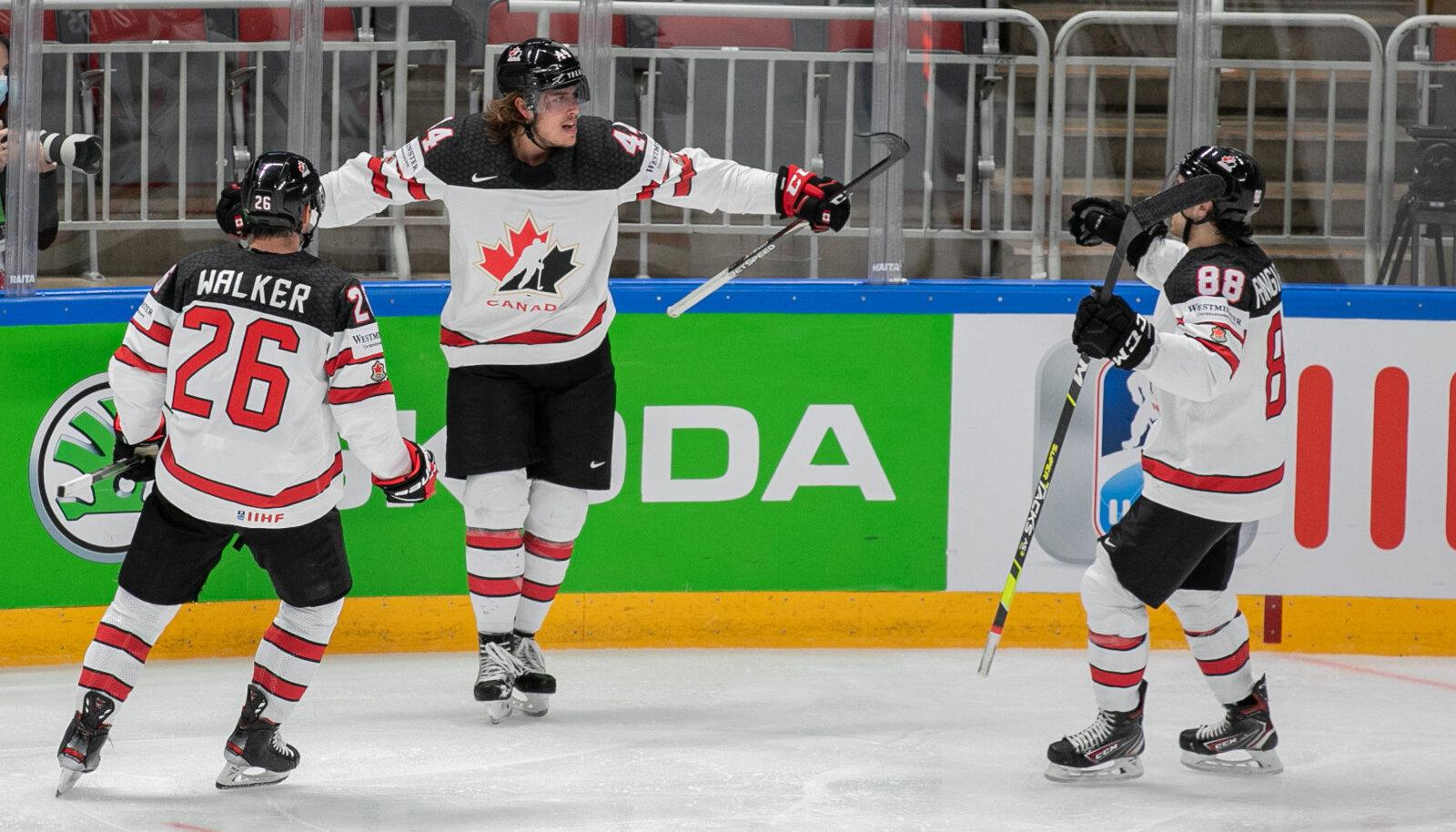 сборная Канады становится чемпионом мира