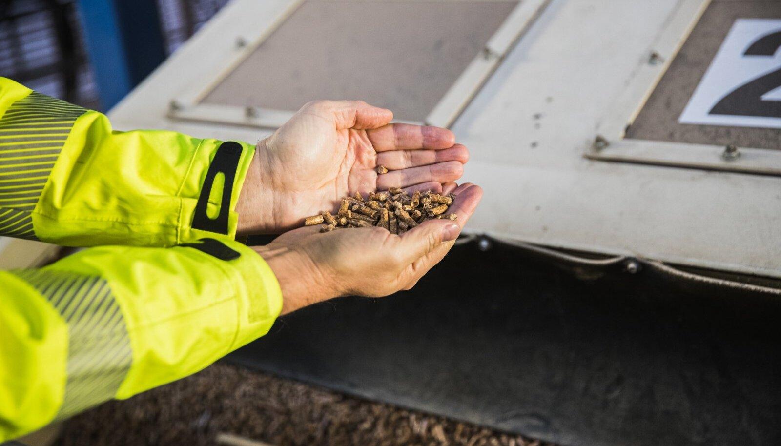 Graanul Investi Eestis toodetavad puidugraanulid