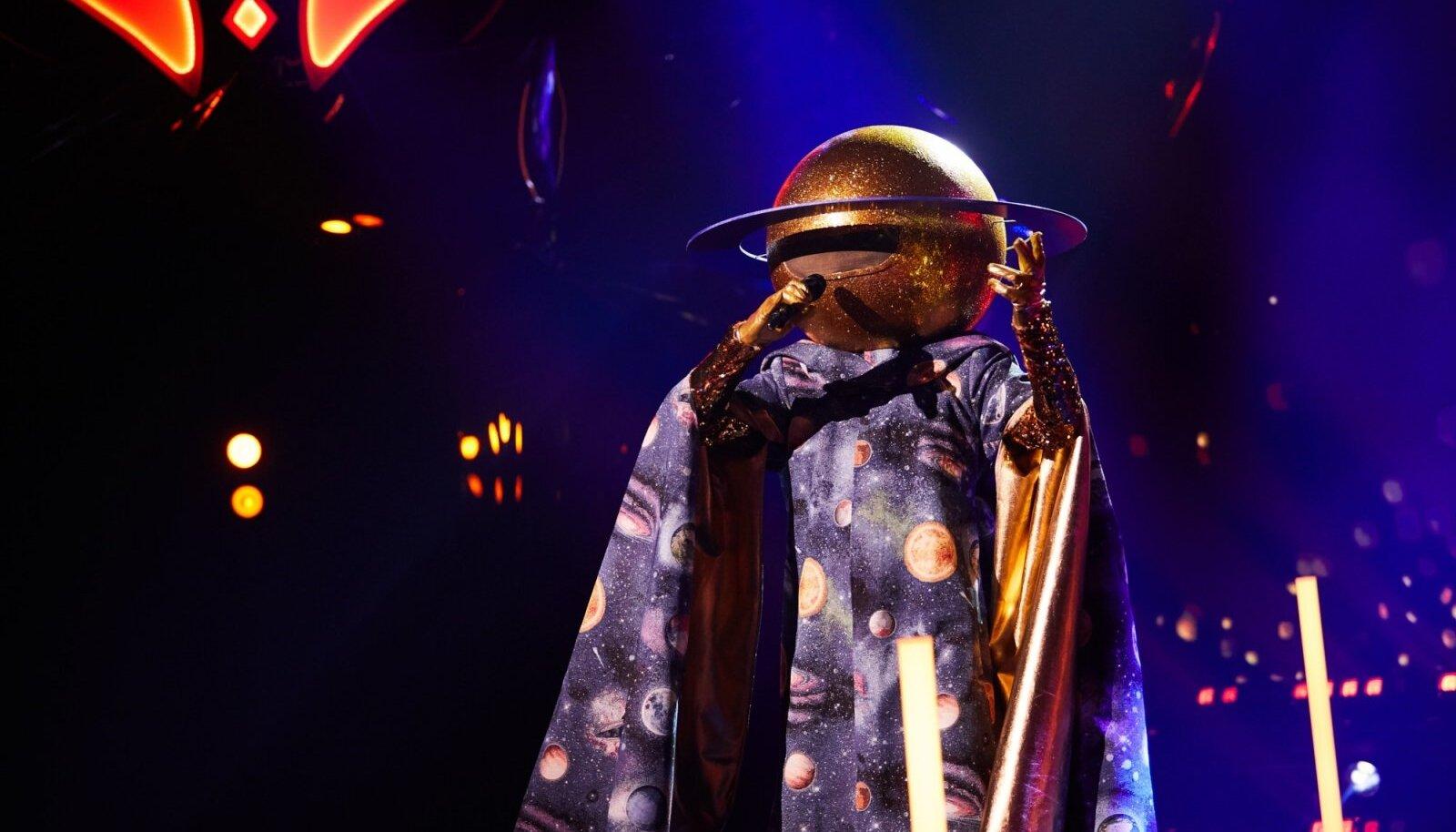 Maskis laulja 4. saade