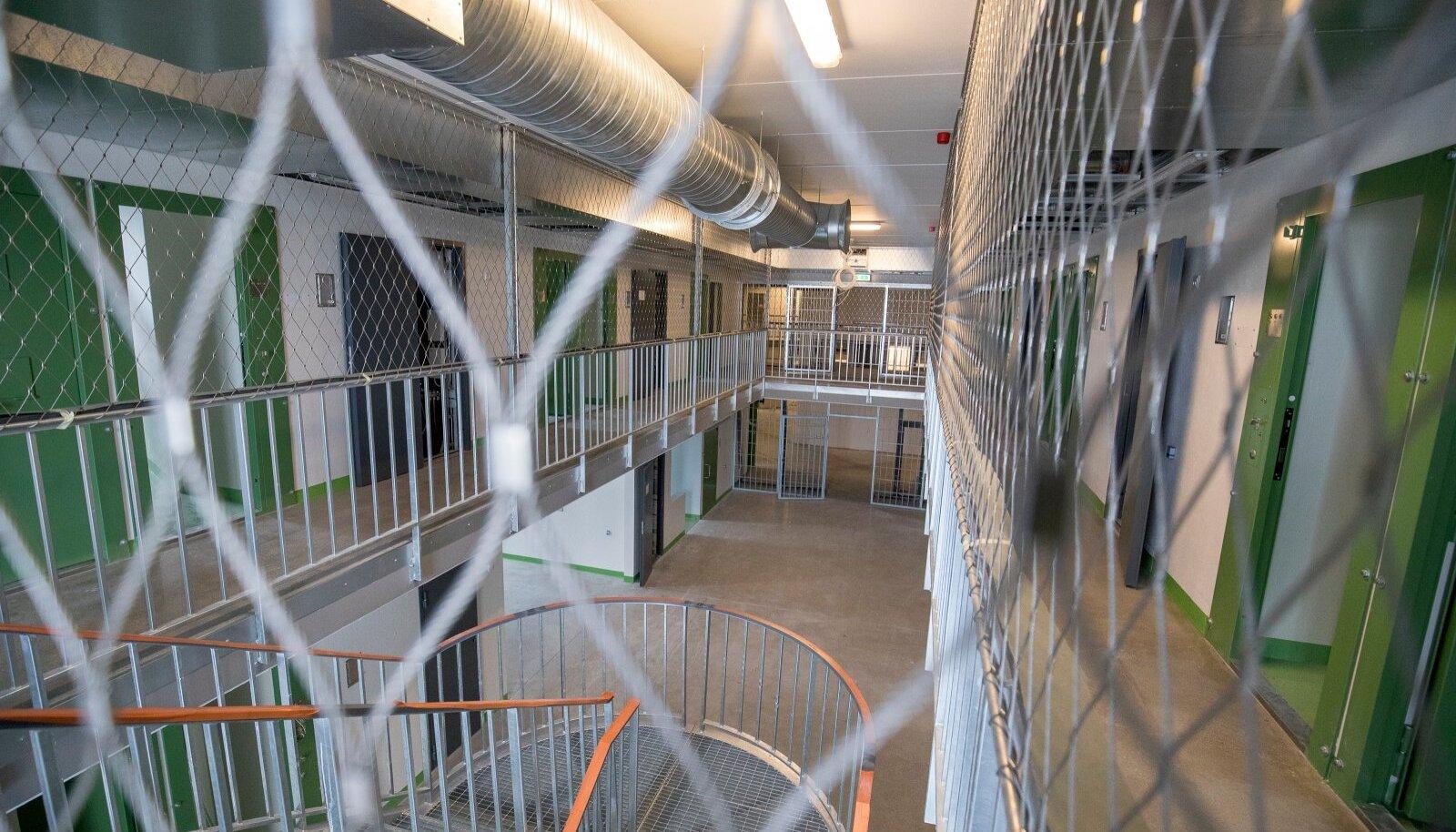 Tallinna vangla ehitusobjektil