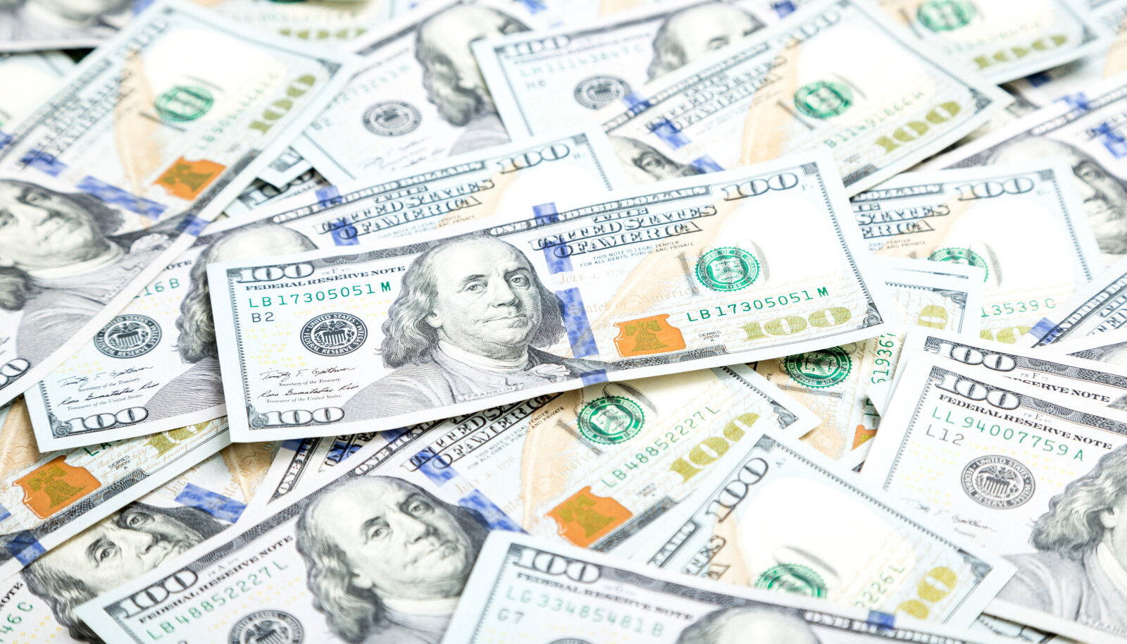 Benjamin Franklin on USA 100-dollarilisel rahal