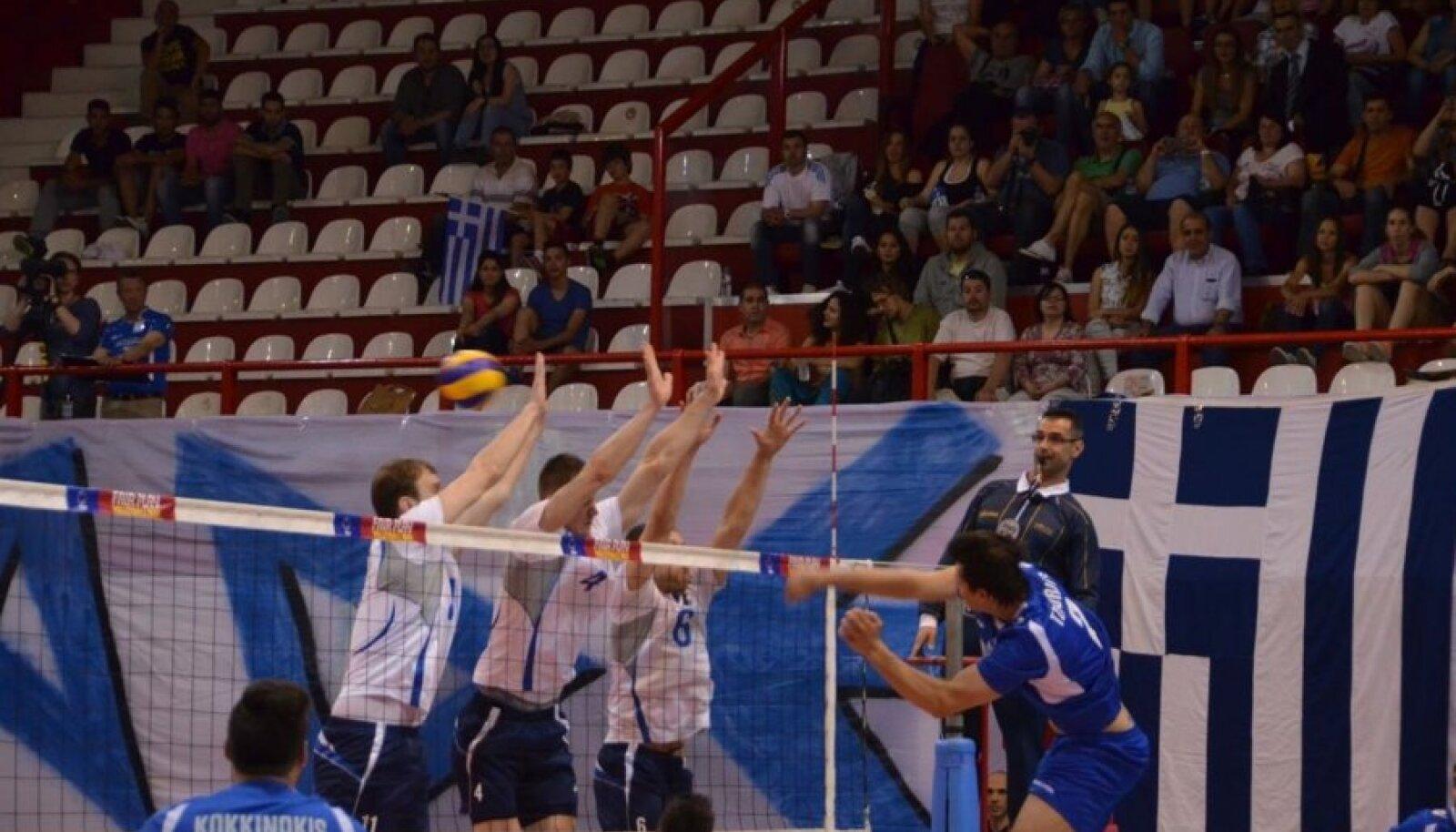 Kreeka vs Eesti võrkpall