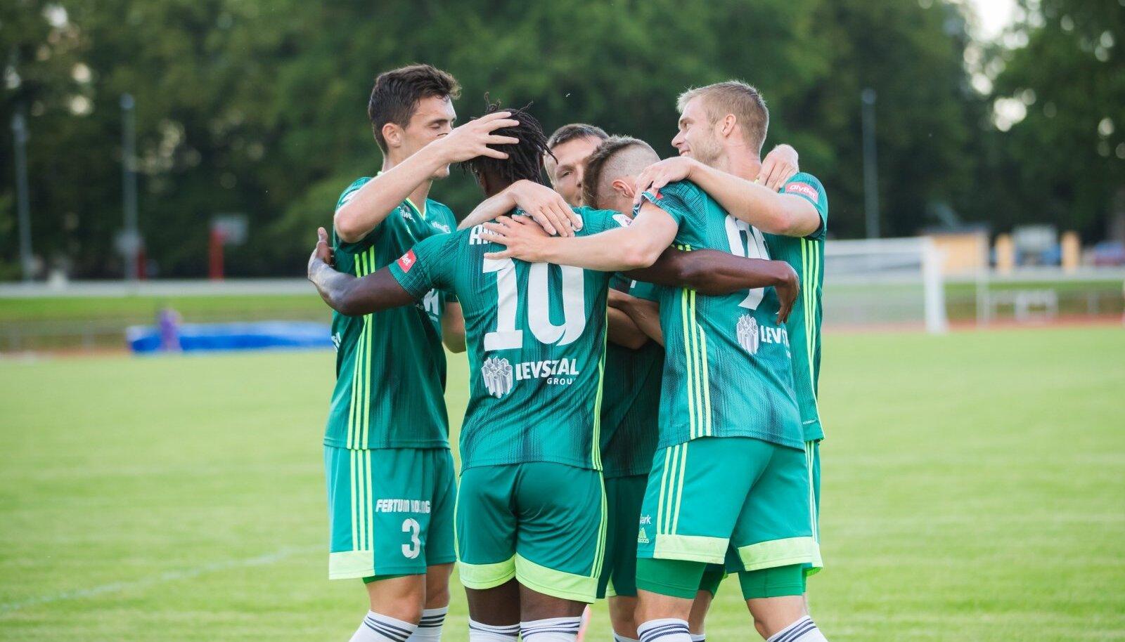JK Tammeka - FC Levadia