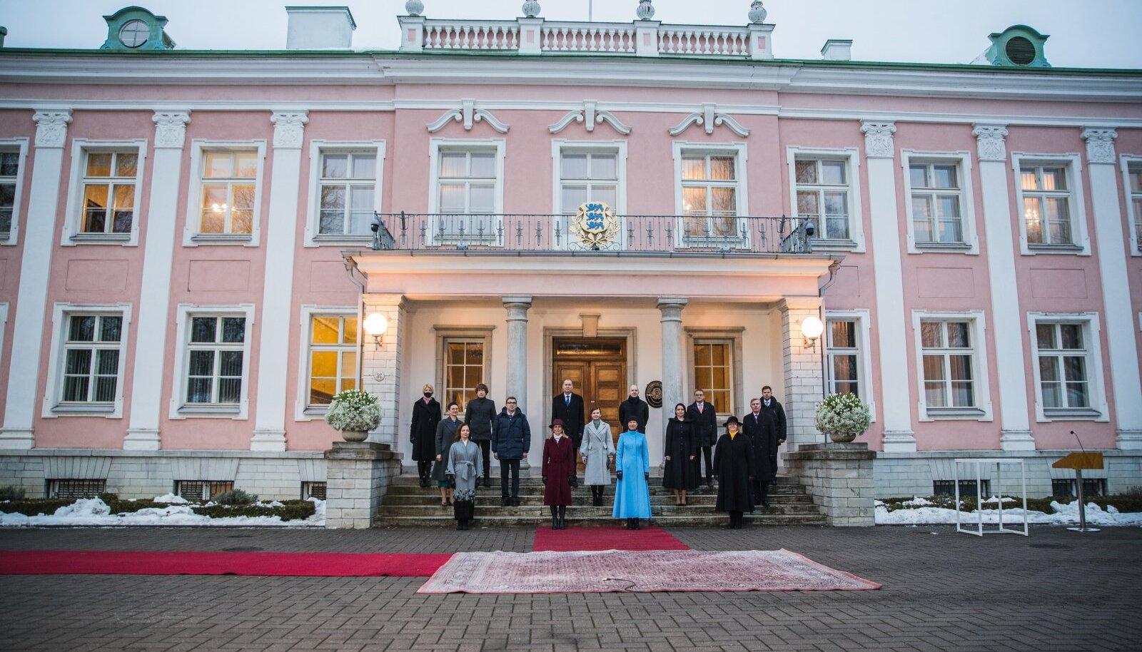 President nimetas Kaja Kallase valitsuse ametisse tänavu 26. jaanuaril