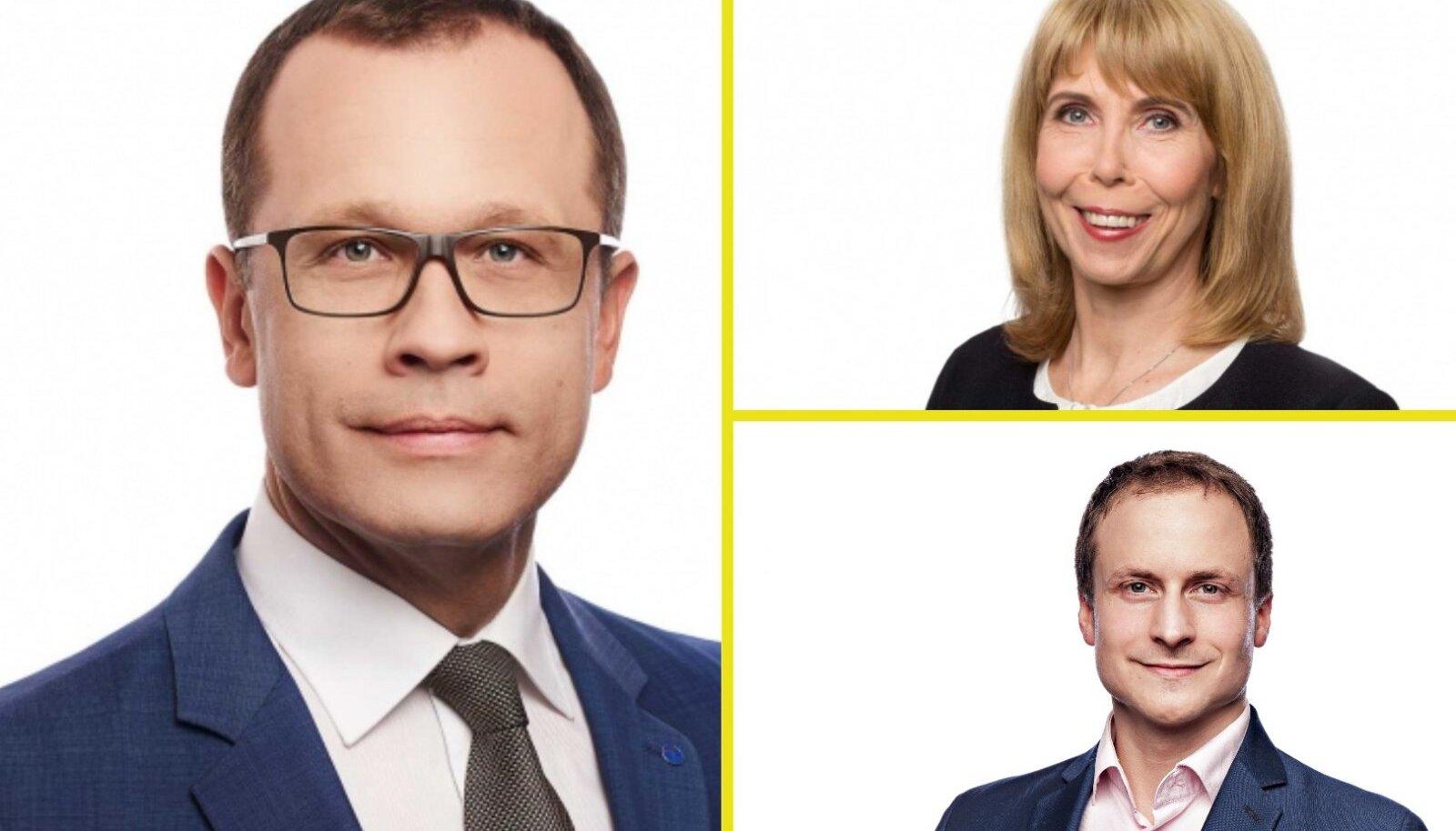 Reformierakonna valimisnimekirja juhivad linnapeakandidaat (ühtlasi praegune linnapea) Urmas Klaas, Margit Sutrop, Mihkel Lees, Ene Ergma, Raimond Tamm ja Ants Laaneots.