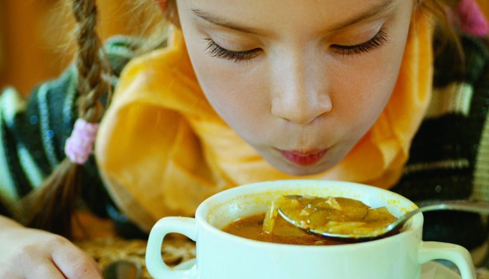 Soe juurviljasupp sobib sügisesse hästi.