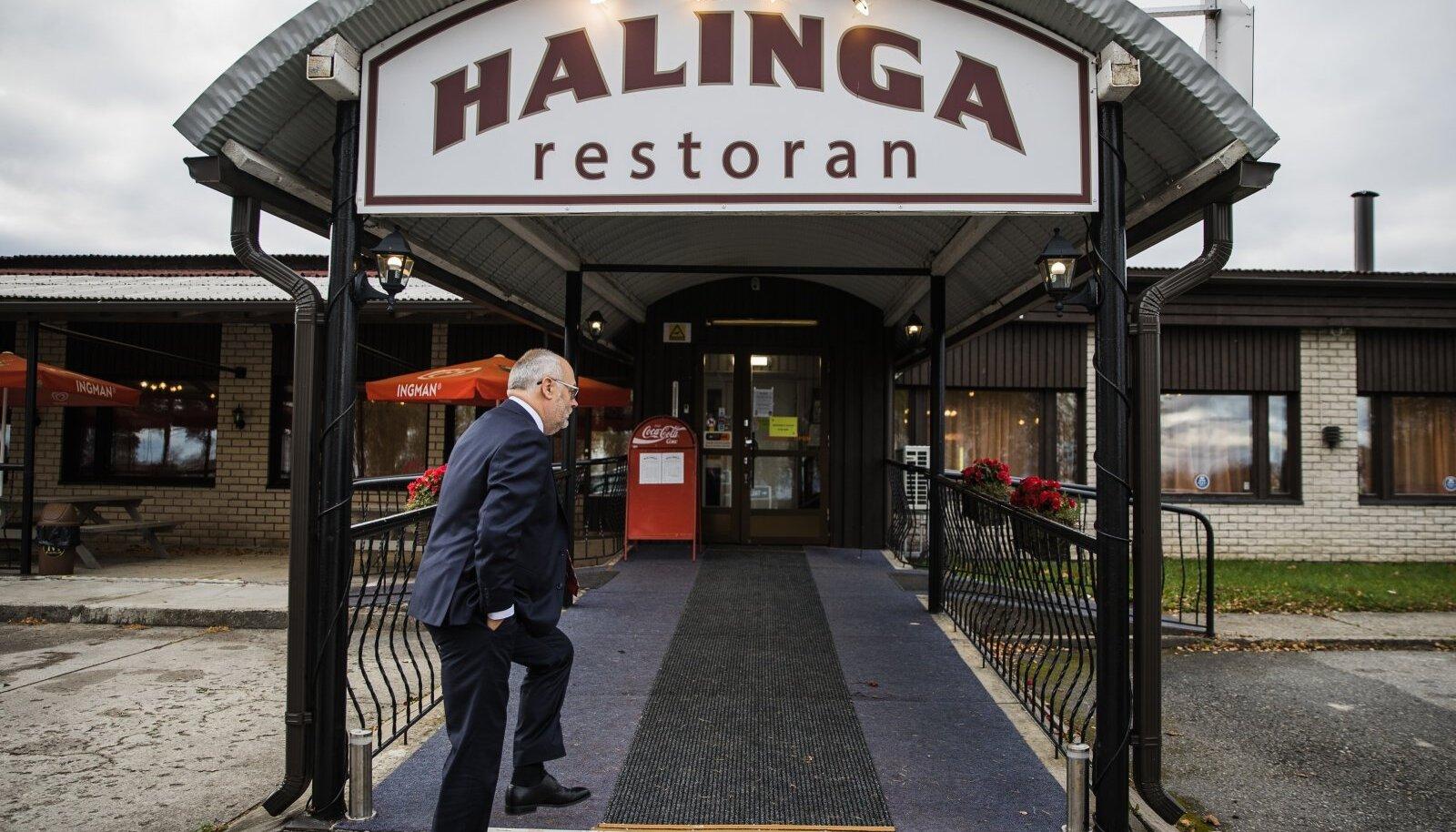 Sellised peatused on välisvisiitidel harukordsed. Tagasiteel Tallinna astus president Karis pärast pettumust valmistanud visiiti läbi Halinga restoranist.