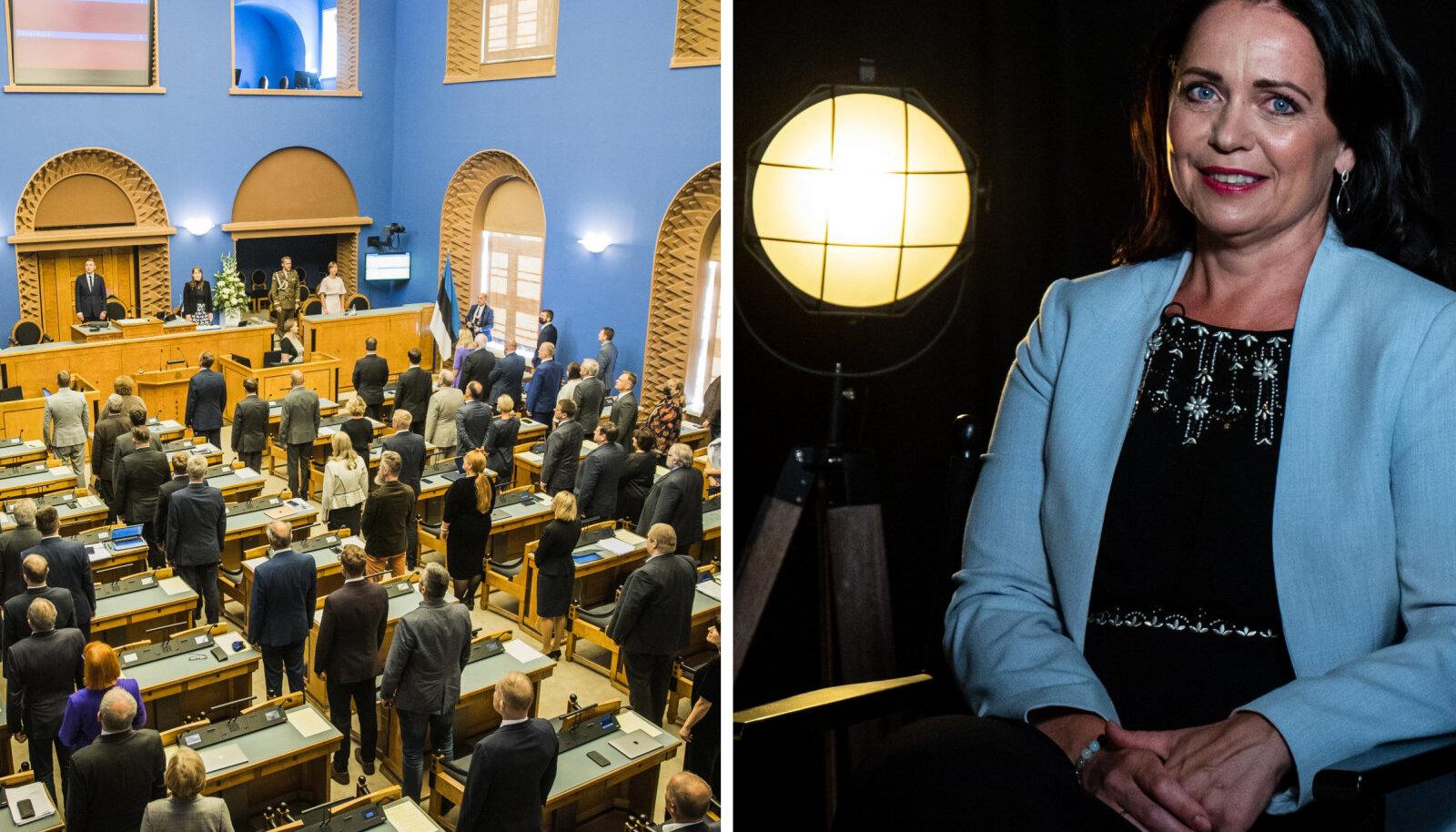 Riigikogus on töö jätkunud pandeemia ajal üsna tavapäraselt, mistõttu pole ka üllatus, et praeguste koroonanäitajate juures viirus oma tee parlamenti leidis.