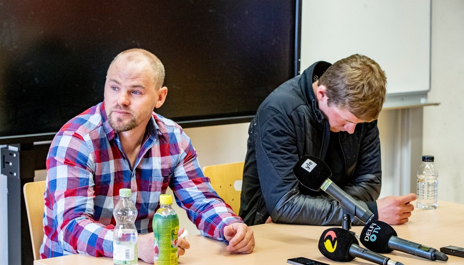 Anti Saarepuu ja Karel Tammjärv