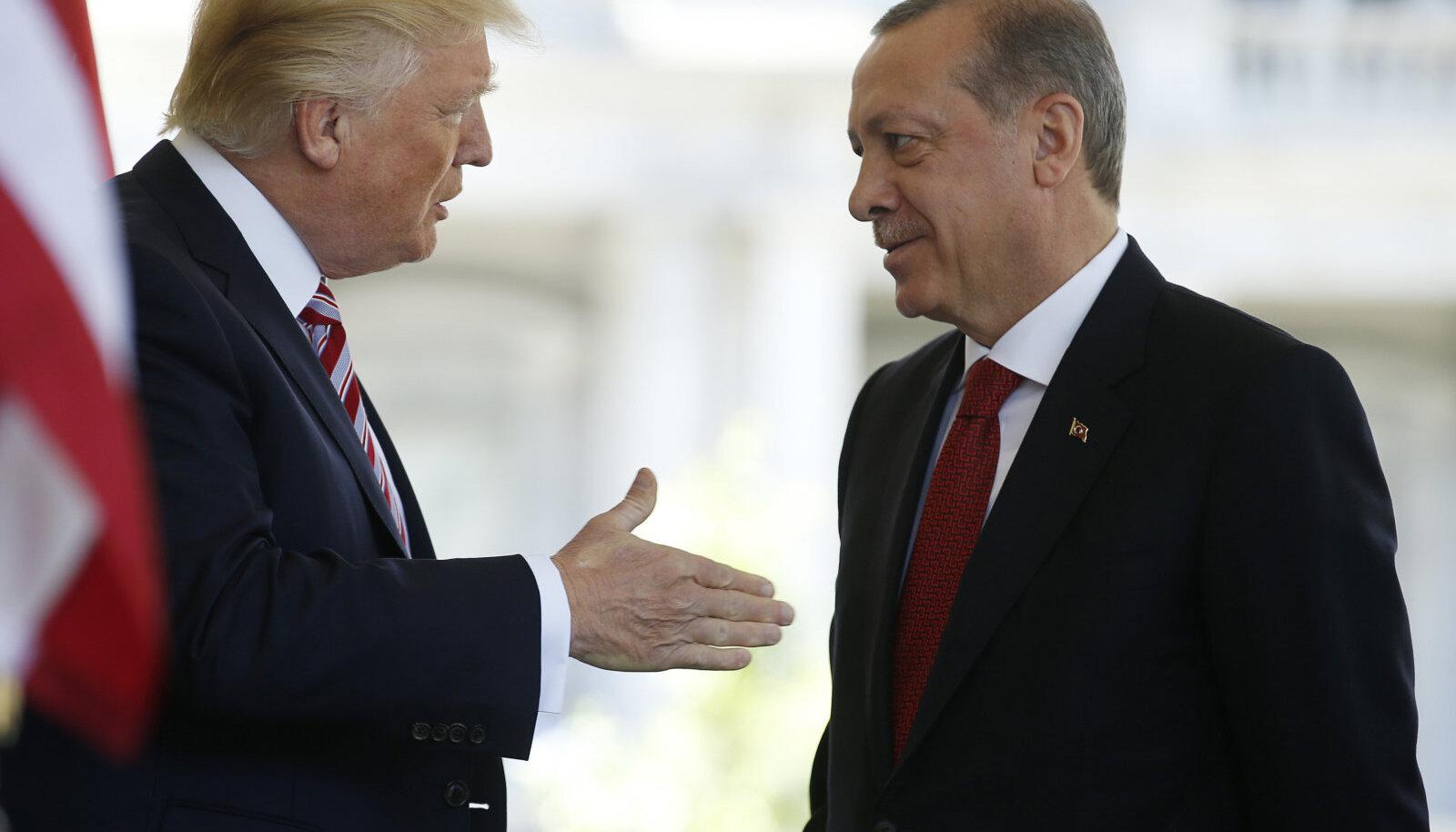 Donald Trumpi ja Recep Tayyip Erdoğani kohtumine 2017. aastal Valges Majas