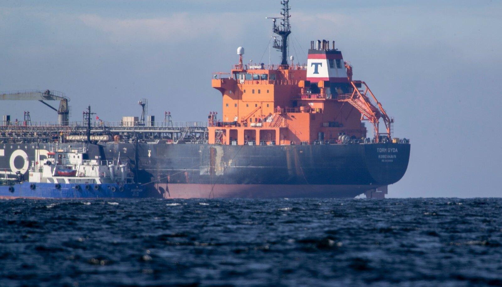 Punkerdamine Tallinna lahel 14.04.2021