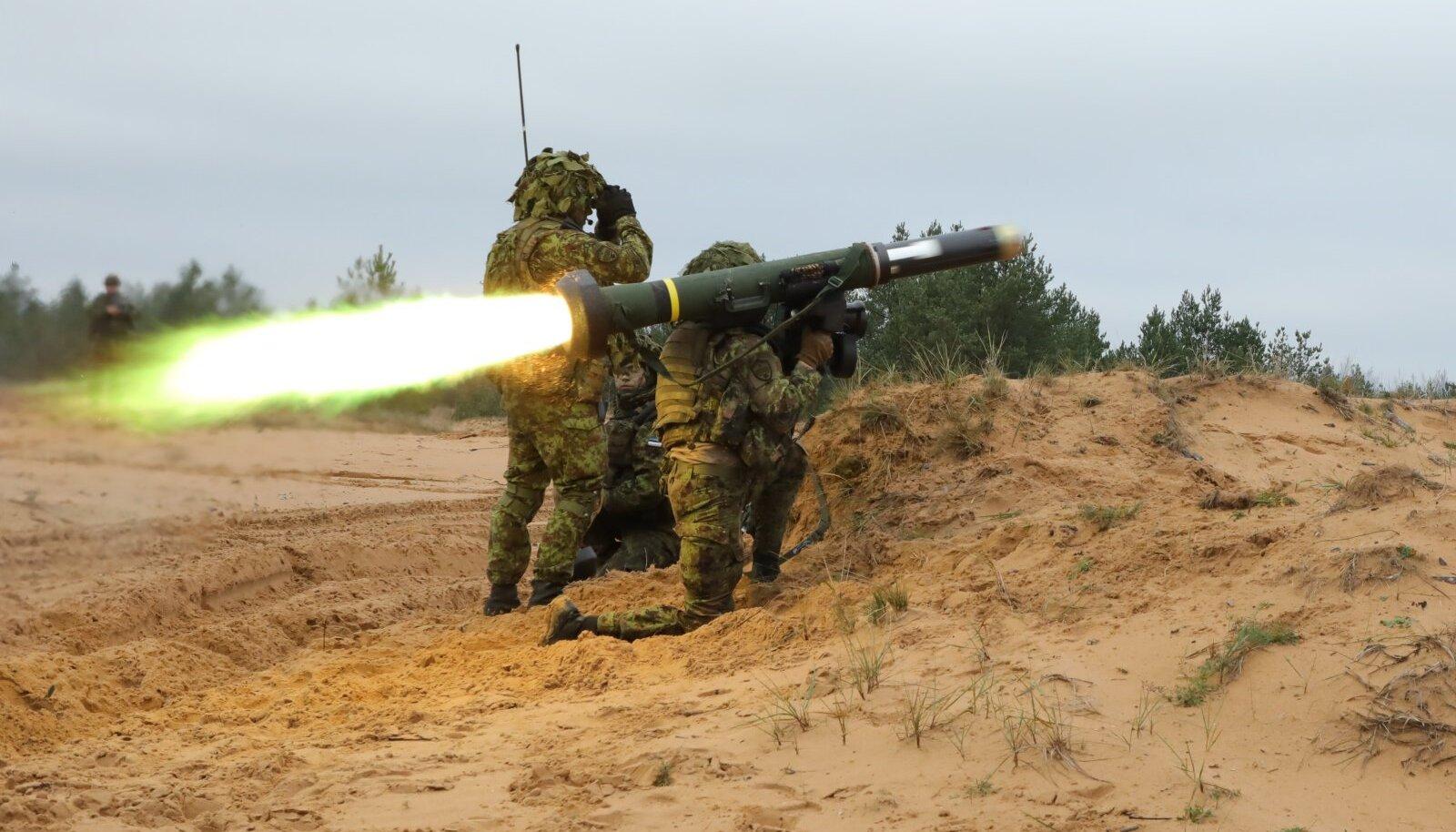 Scoutspataljoni laskelaager Teraskilp (Foto: Marina Loštšina, Kaitsevägi, ajakiri Sõdur)