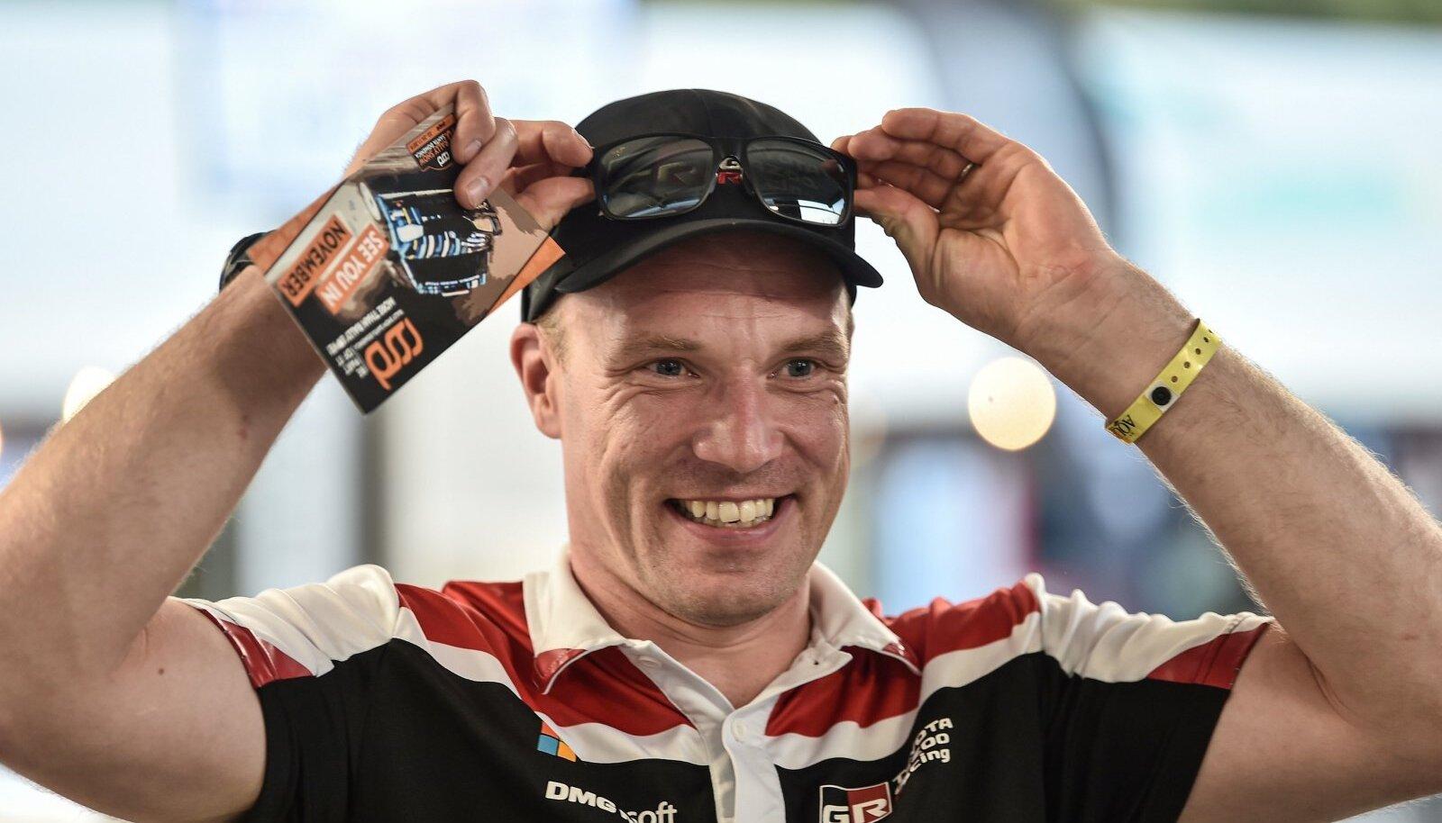 Jari-Matti Latvala tüürib uuest aastast Toyota WRC-tiimi.