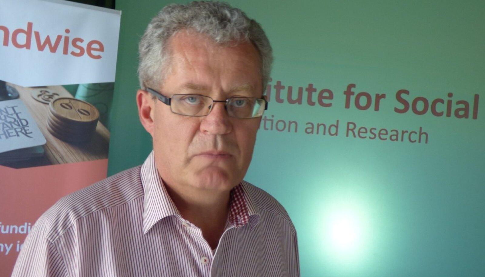 Sotsiaalse Panganduse Instituudi juht Euroopas Julian Kühn.