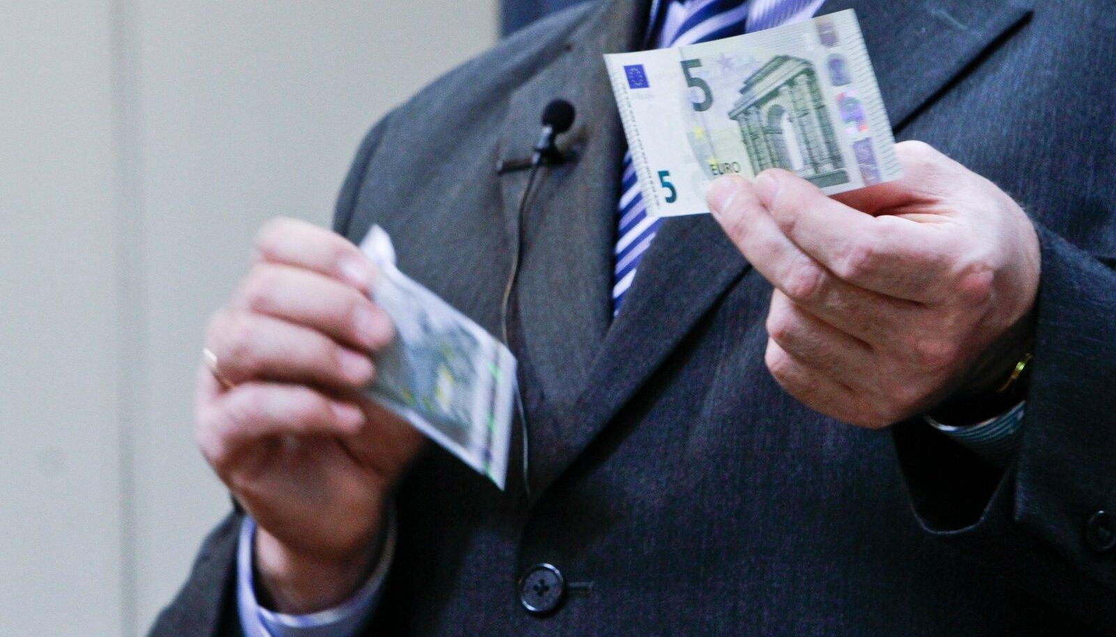 Uus 5 eurone rahatäht
