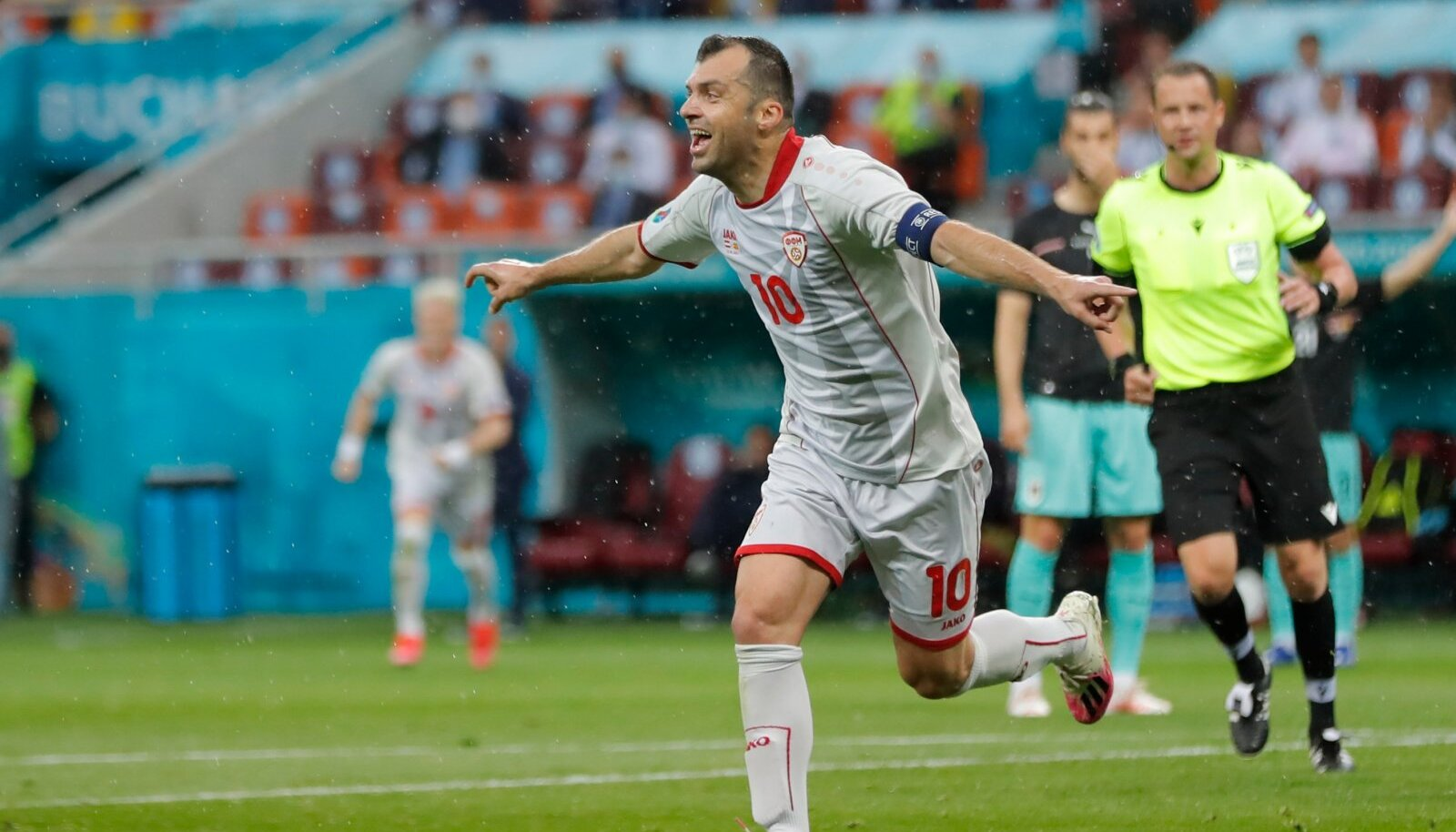 Legendaarne Goran Pandev sai EM-il oma värava kätte.