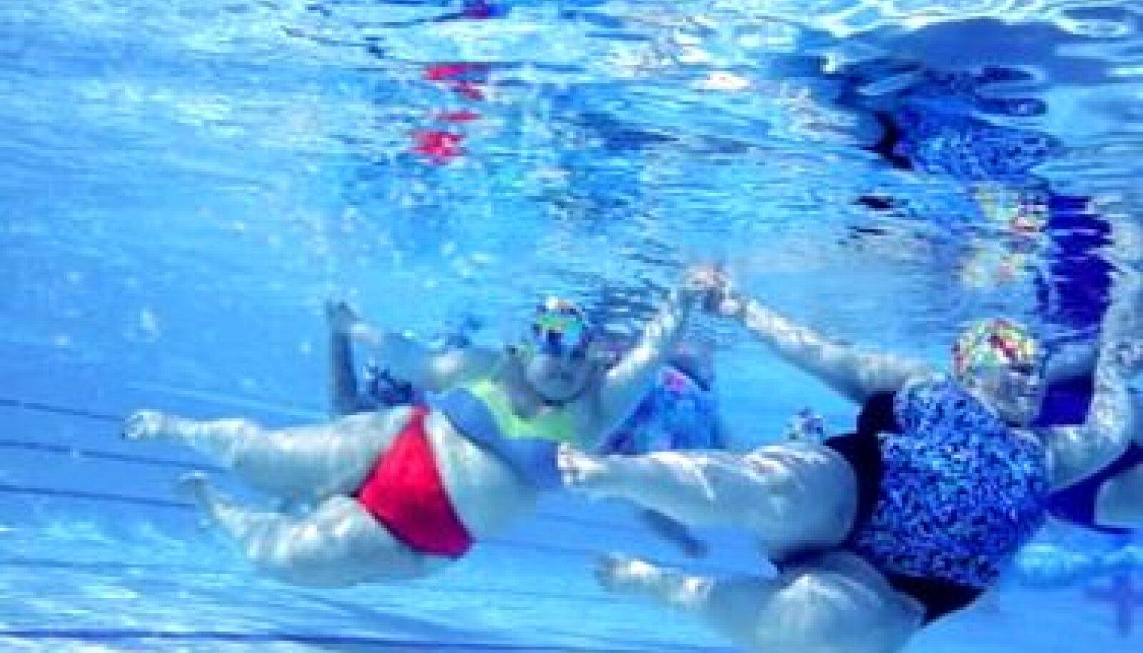 Padded Lilies, paksust propageeriv ujumisvõistkond