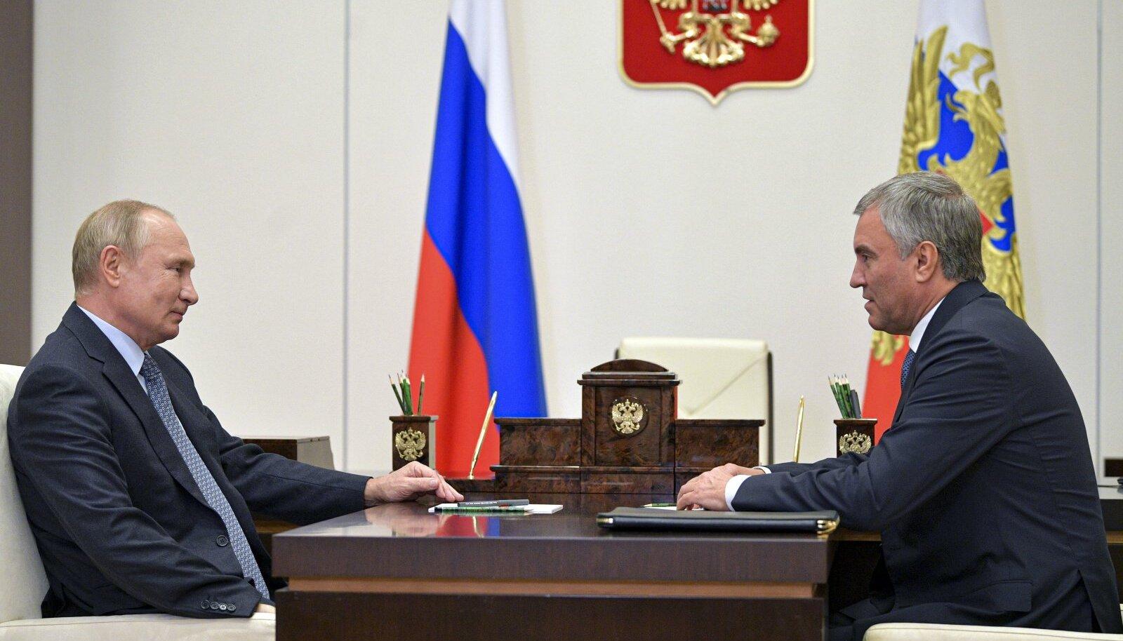 Putin ja Volodin