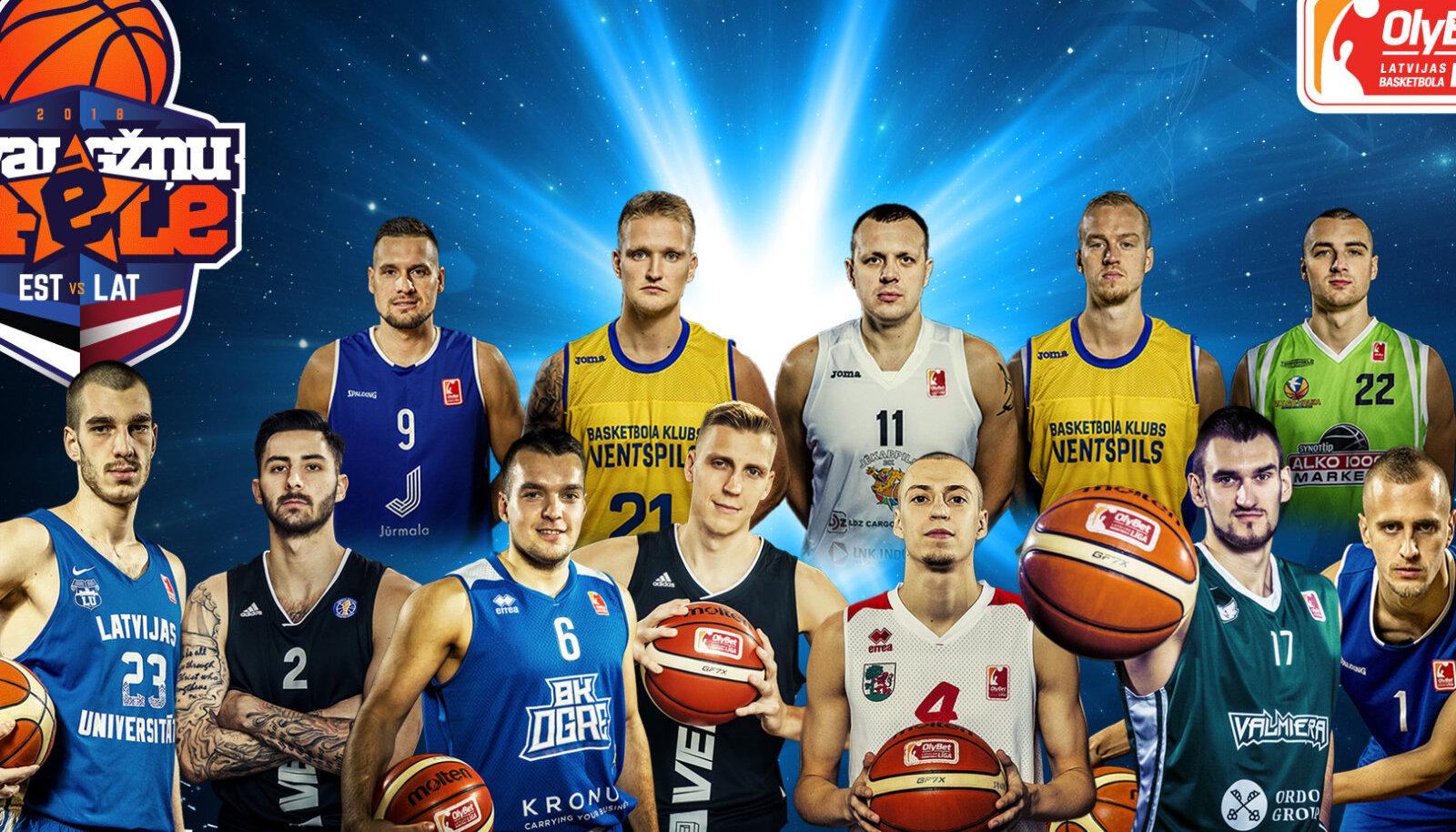 Läti korvpalliliiga Tähtede meeskond