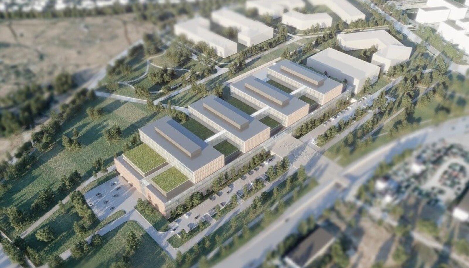 Tulevane Tallinna Haigla Lasnamäel