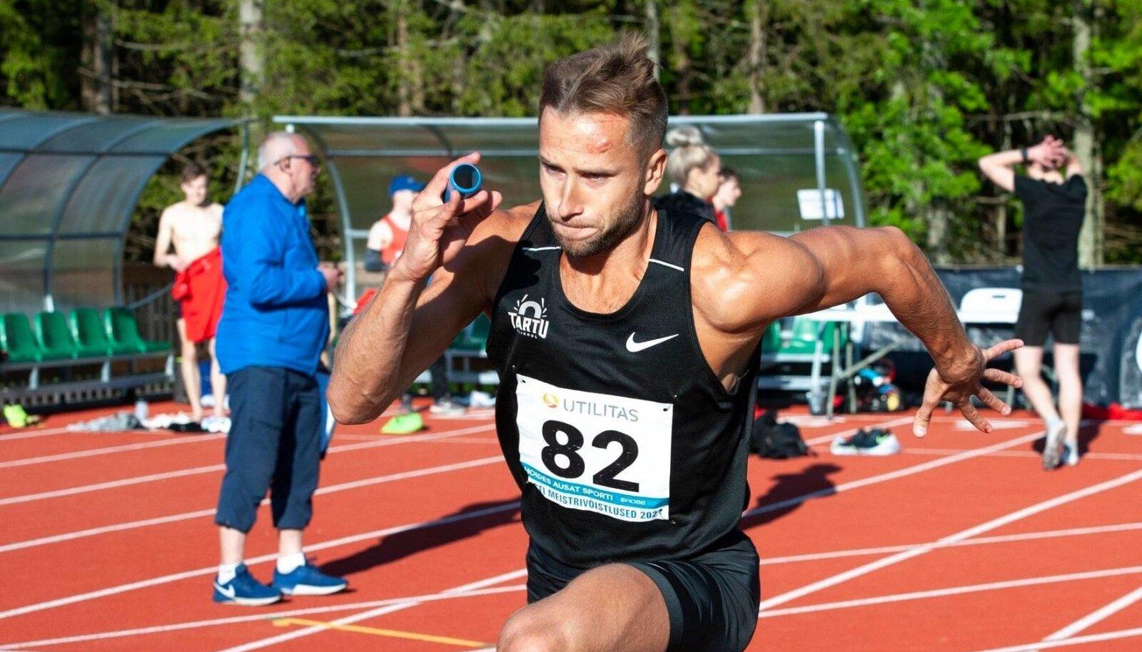 Rasmus Mägi tegi Käärikul lahtijooksuks kaks starti koos teatepulgaga, tasuks meistrikullad ja rahulolu pakkunud etapiajad.