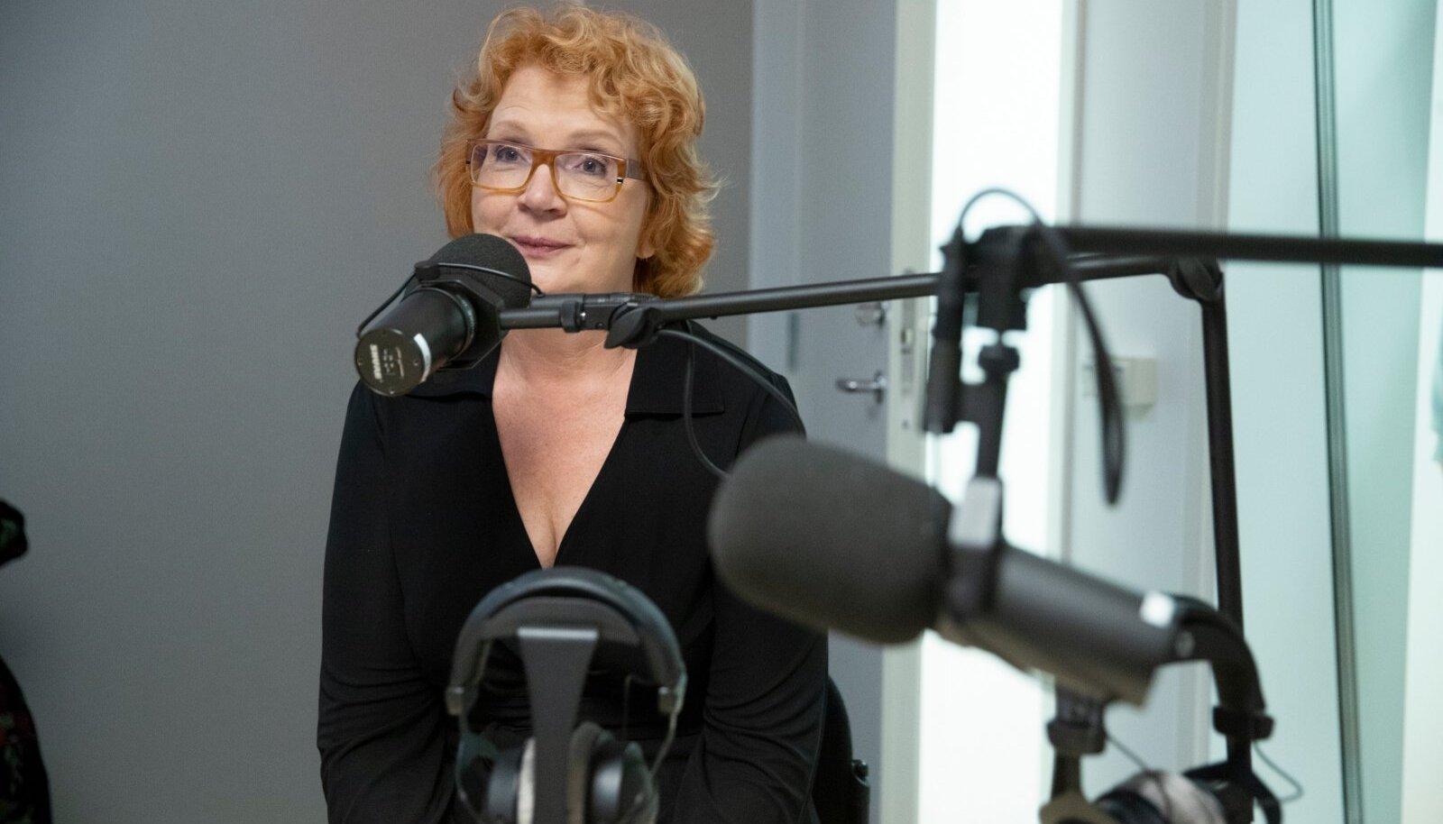 Andrus Ansip, Yana Toom ja Raimo Poom helistuudios