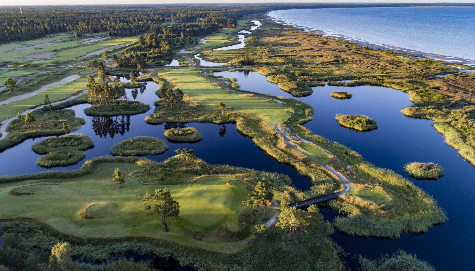 Pärnu Bay Golf Links väljakud