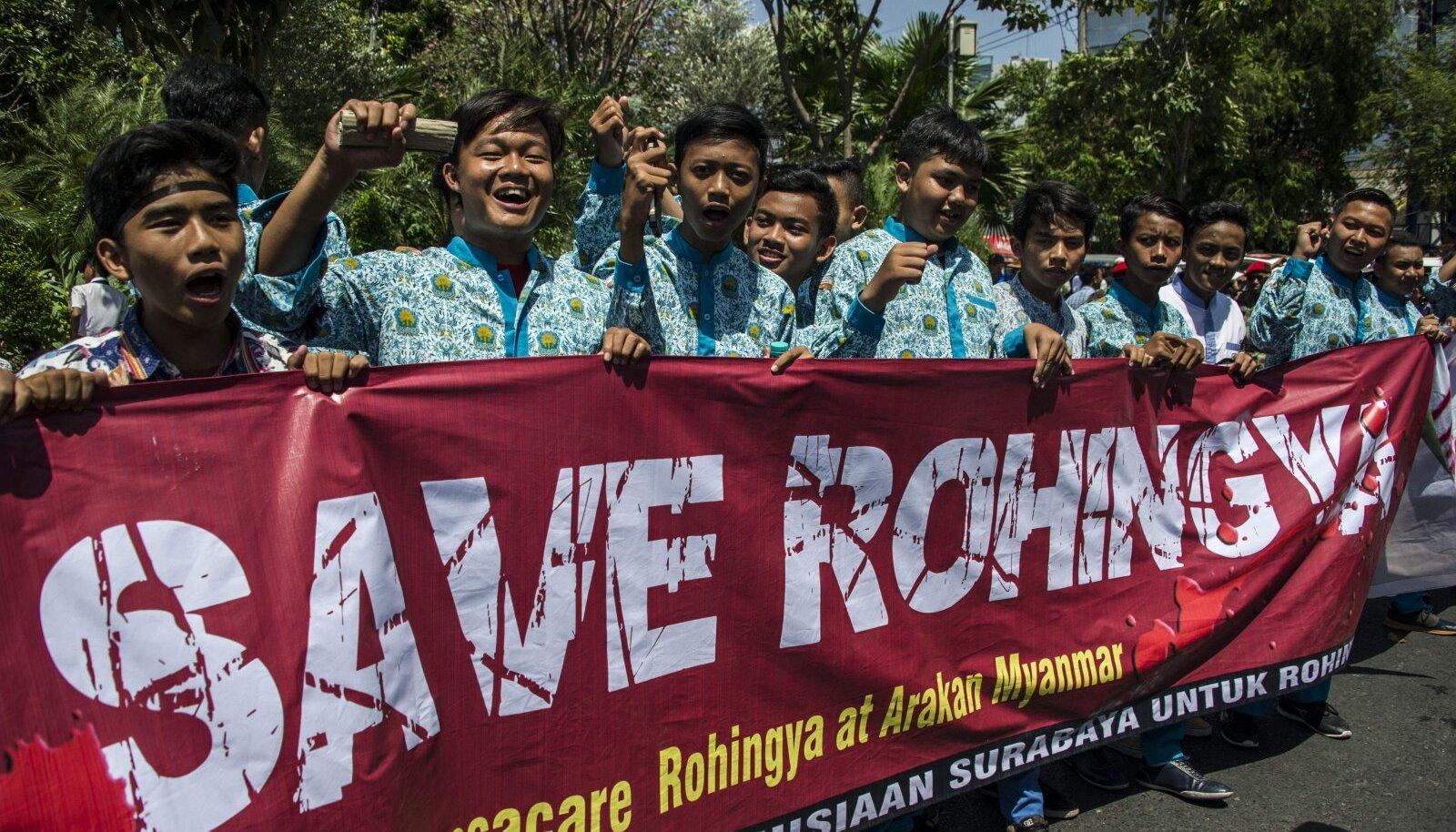 On selge, et Indoneesias elatakse usuvendadele tugevalt kaasa.