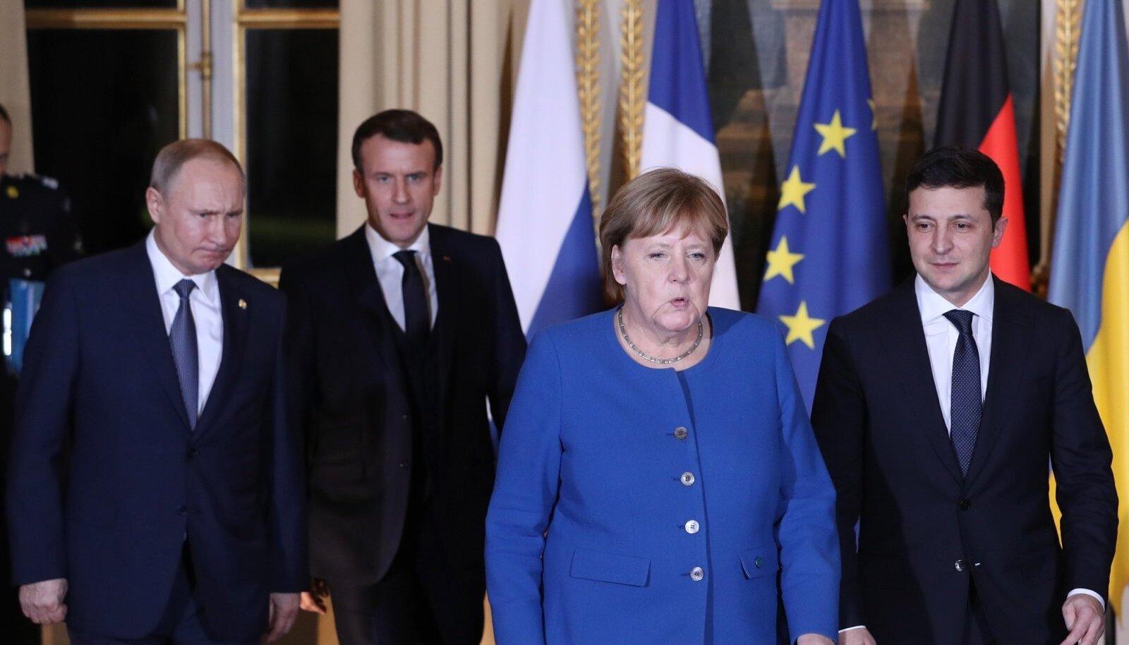 Zelenskõi ei saanud esmakohtumiselt Putiniga soovitut, kuid ei teinud ka kardetut