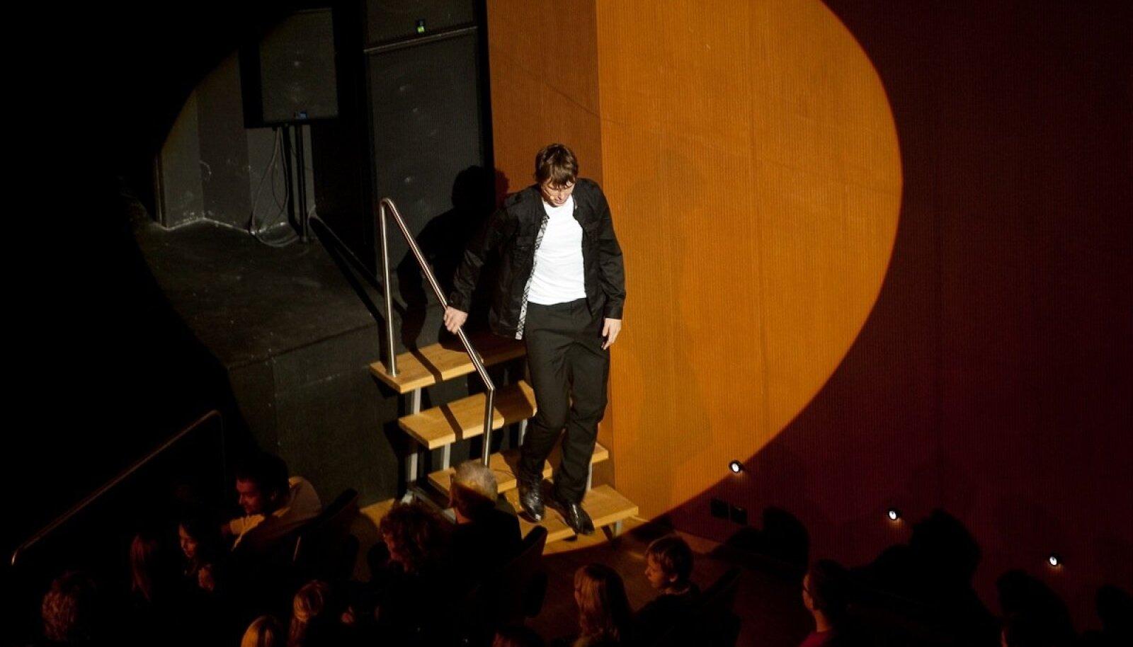 Trikimees Jürgen Veberi esinemine Nokia kontsertmajas